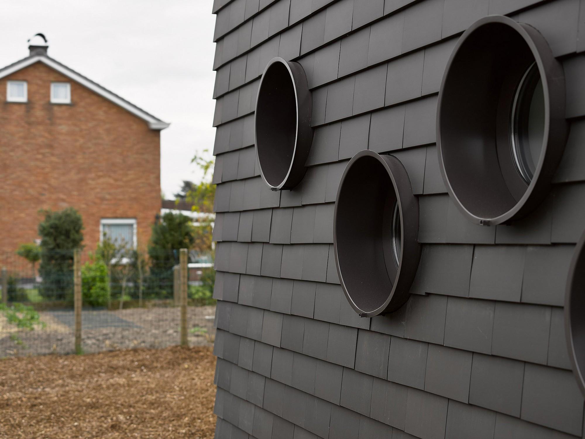 Afbeelding: Architectuur fotografie, detail woning Wondelgem, voor atelier M Architects + Planners.
