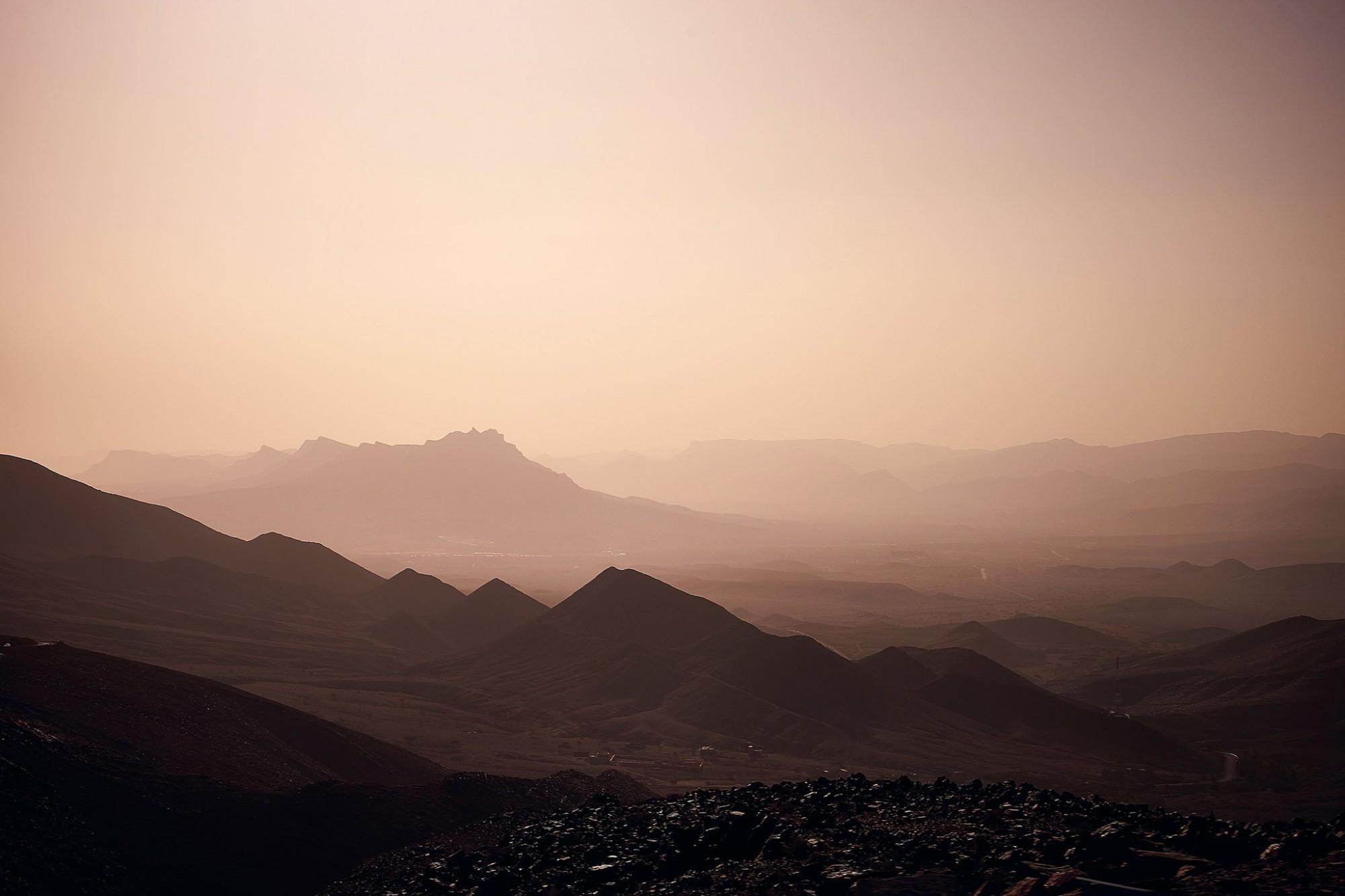 Afbeelding: Dominique Van Huffel, reisreportage, Marokko, Tizi n Tichka.