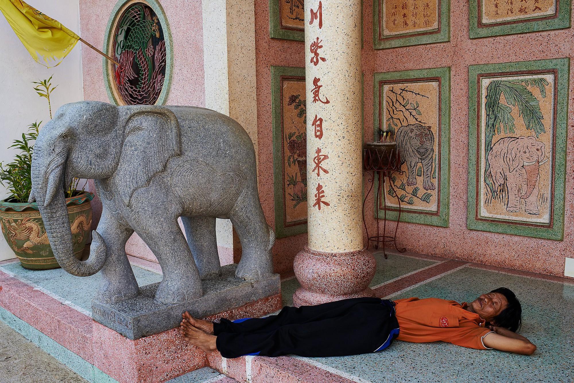 Afbeelding: Dominique Van Huffel reisreportages Thailand, Chang Rai.