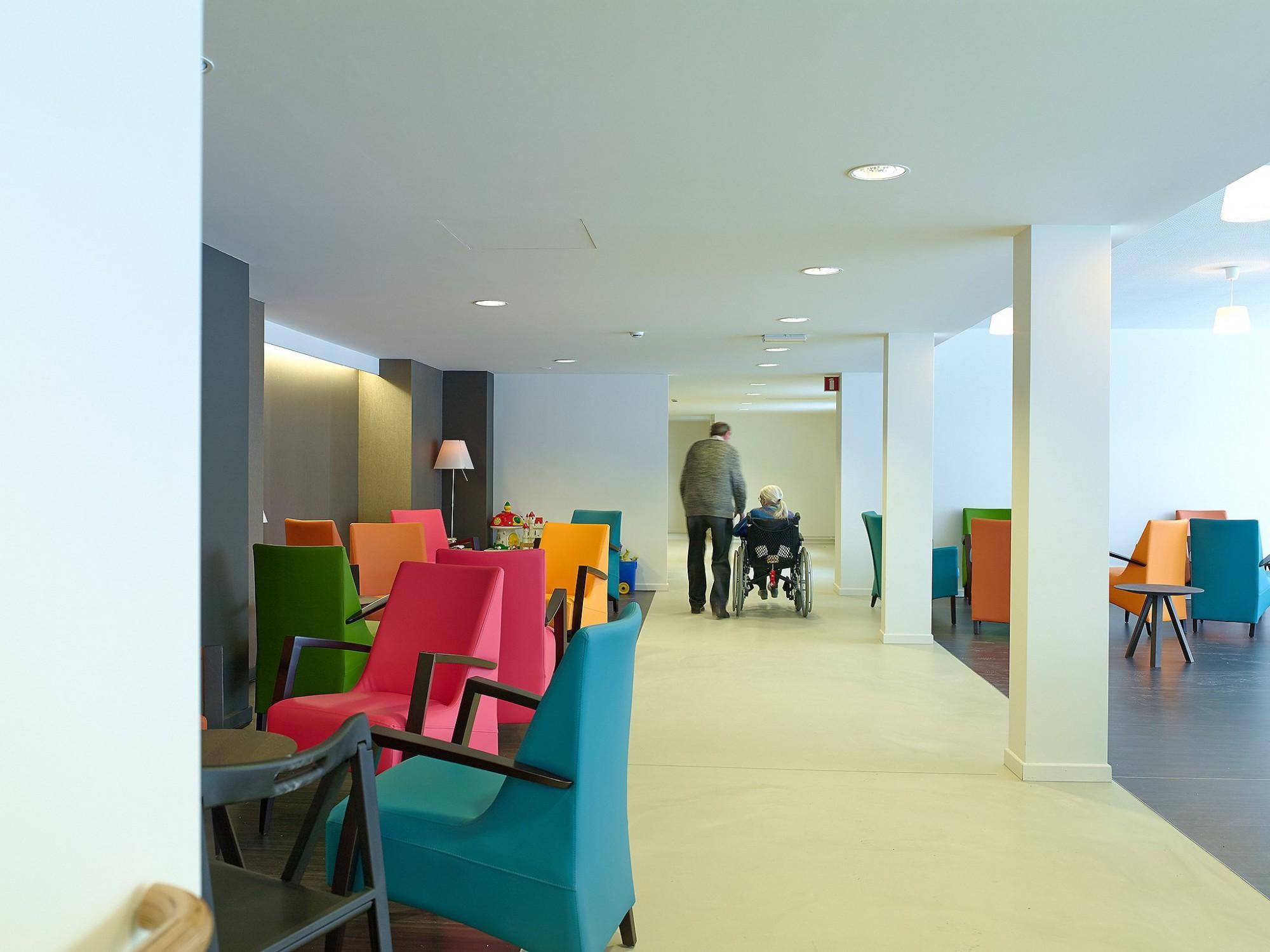 Afbeelding: Fotografie woonzorgcentra Lisdodde te Mechelen, voor de groep Van Roey.