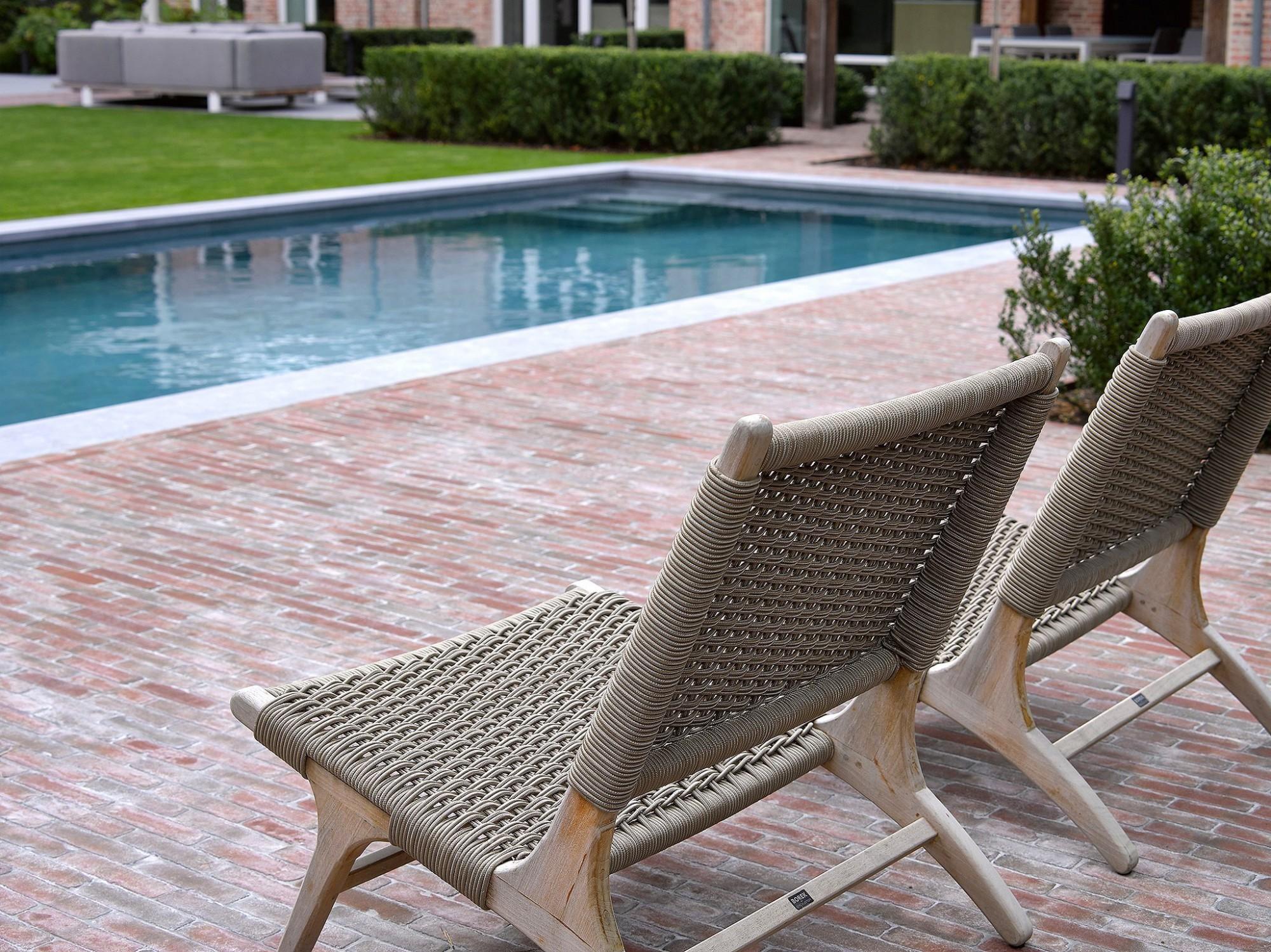 Afbeelding: Fotografie zwembad en terras te Kasterlee voor © Relaxzwembaden.