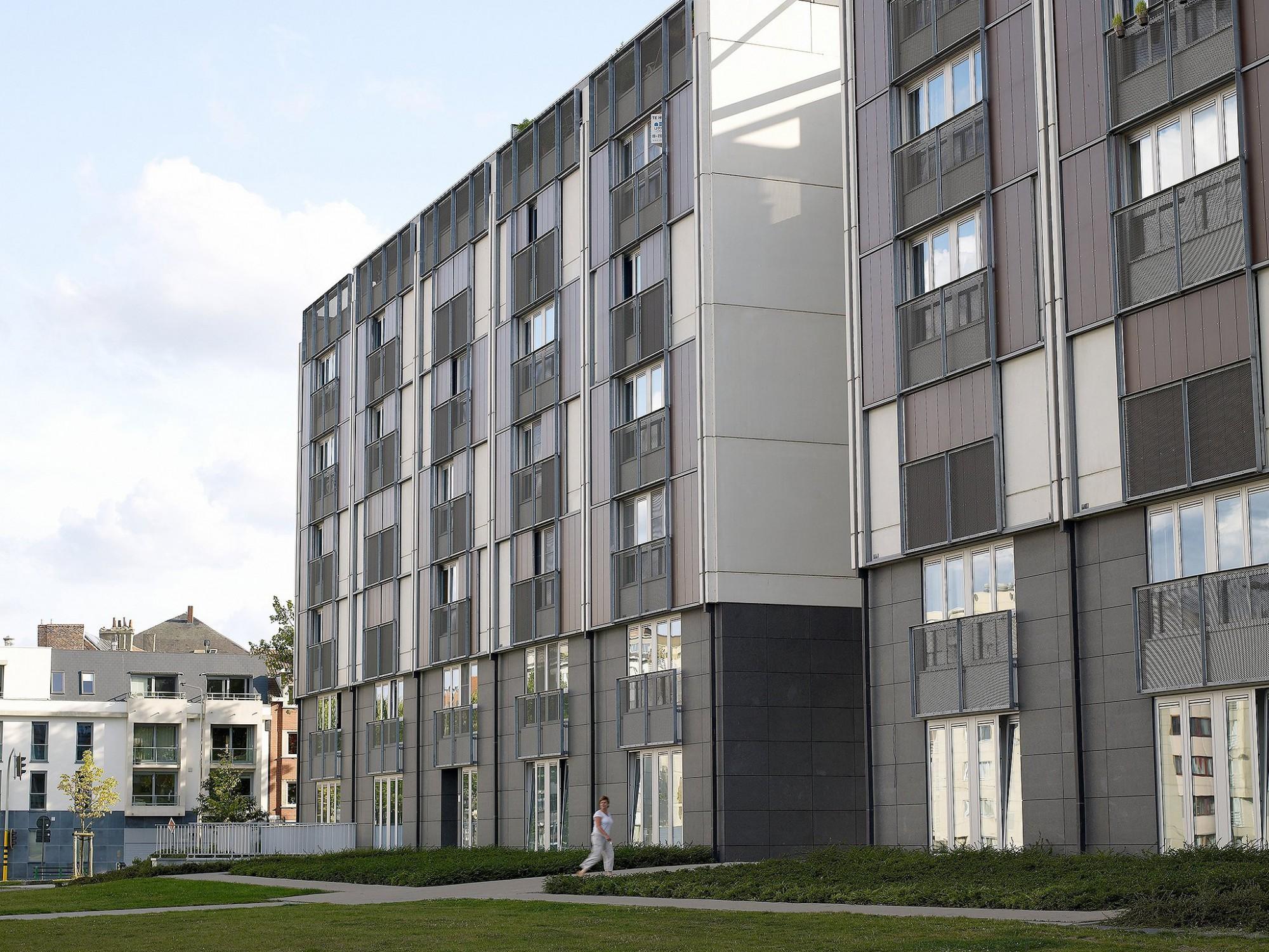 Afbeelding: Architectuur fotografie sociale appartementen, Gent Groen Vallei renovatie, voor KA construct.