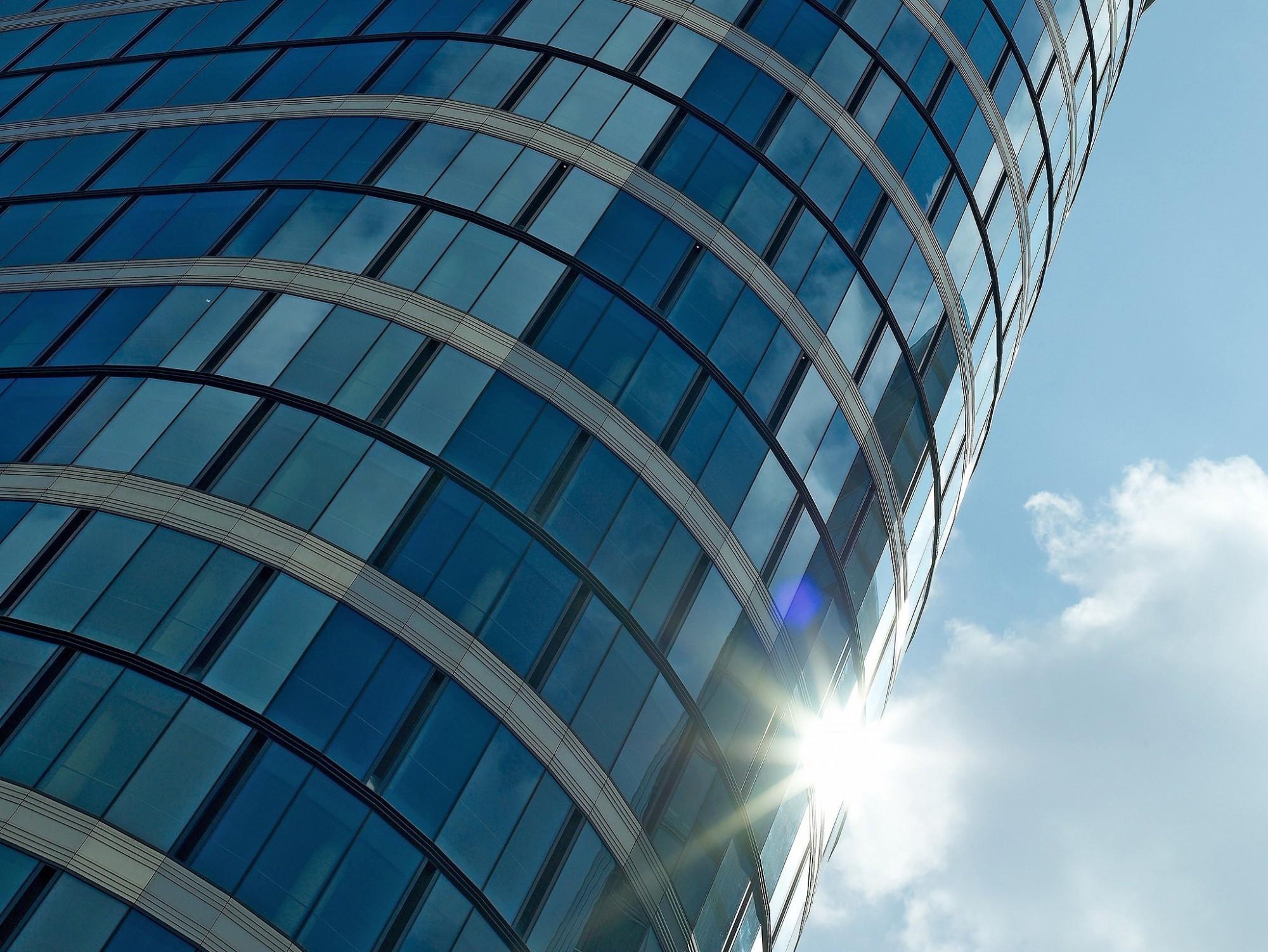 Afbeelding: Architectuurfotografie van bedrijfsgebouwen voor bouwbedrijven of projectontwikkelaars.