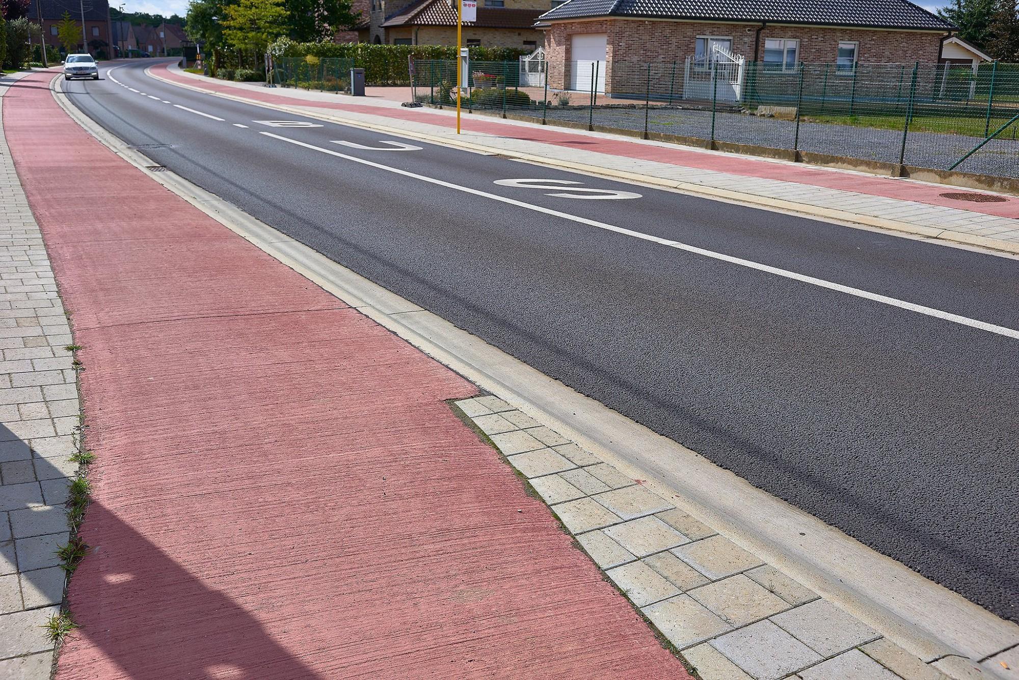 Afbeelding: Infrastructuurwerken - wegenbouw te Tielt Winge, door DCA.