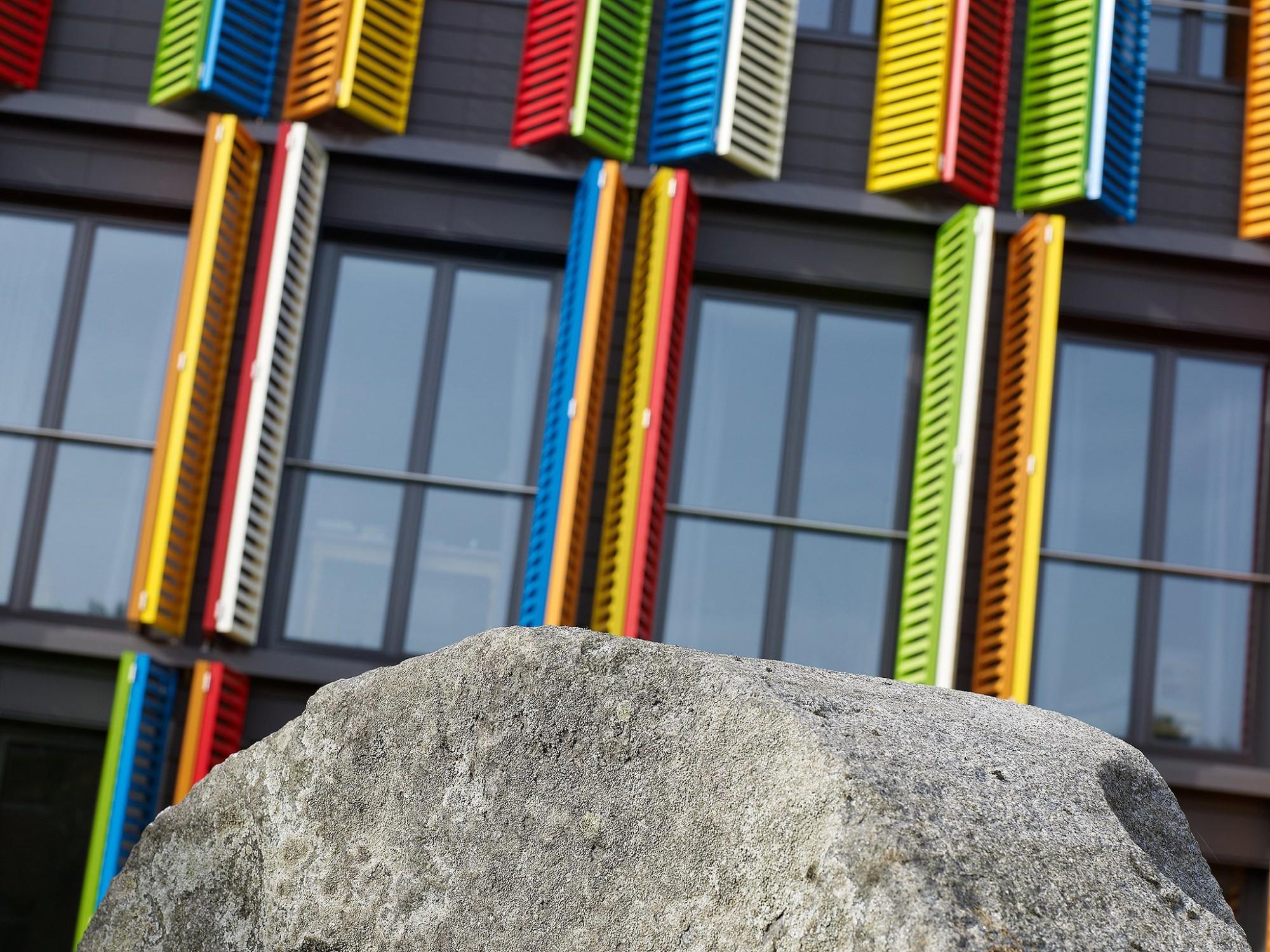 Afbeelding: Architectuur fotografie, woon-en zorgcentrum te Mechelen, voor groep Van Roey.