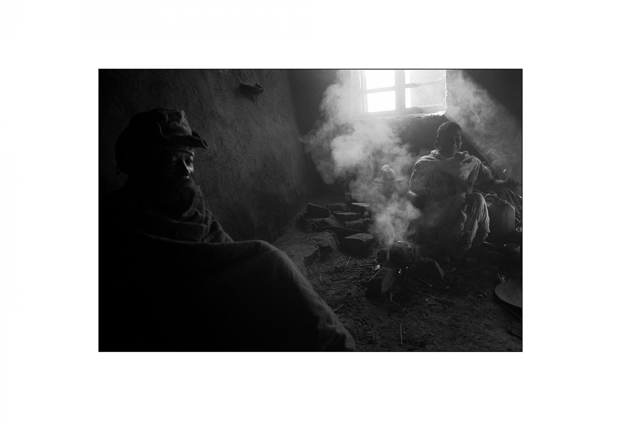 Afbeelding: Fotografie - Art, uit de reeks : De kleur van zwart. Ethiopië, 02-11-14, © Dominique Van Huffel.