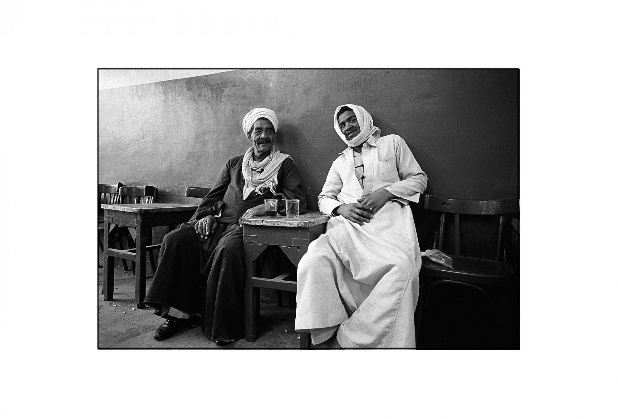 Afbeelding: Fotografie - Art, uit de reeks : De kleur van zwart. Egypte, 93-12-27, © Dominique Van Huffel.