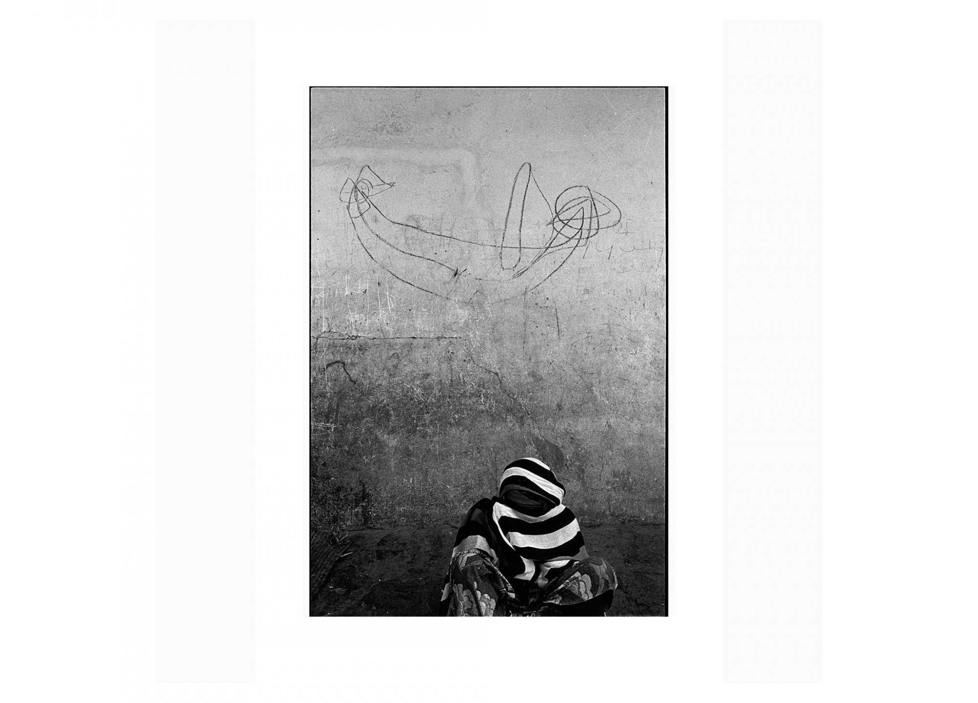 Afbeelding: Fotografie - Art, uit de reeks : De kleur van zwart. Mali, 98-21-34, © Dominique Van Huffel.