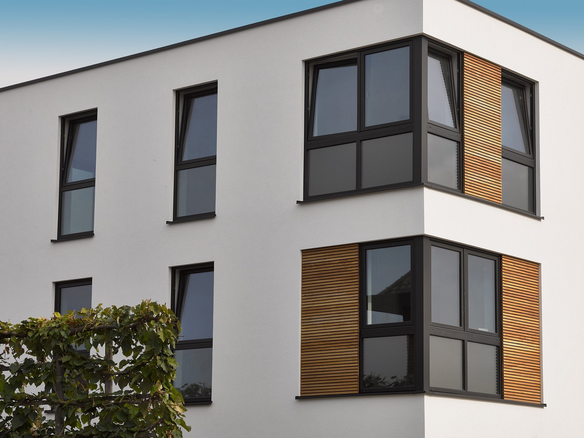 Afbeelding: Fotografie appartement voor De Clerck pvc ramen en deuren, foto Van Huffel