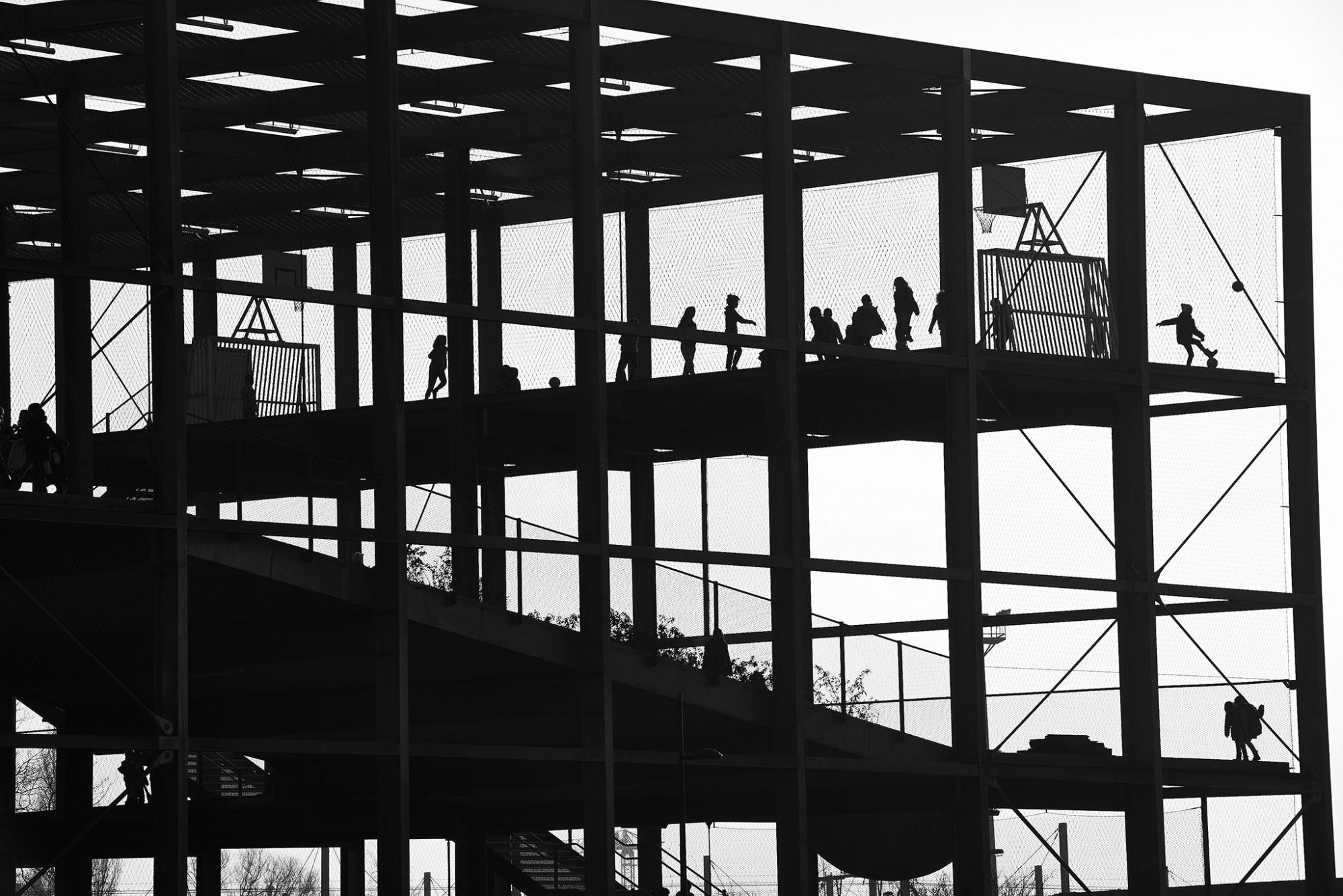 Afbeelding: Melopee schoolgebouw Gent © XDGA