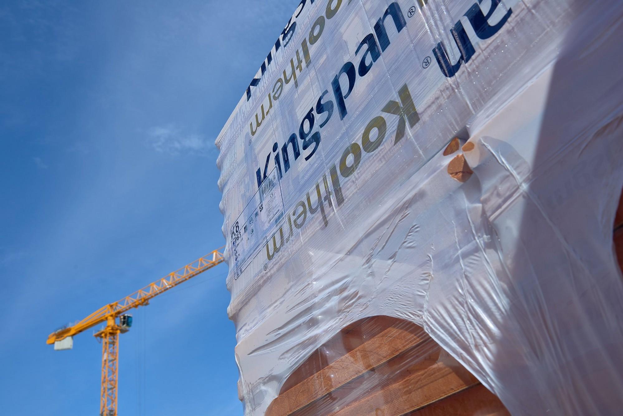Afbeelding: Werf-productfotografie op locatie voor Kingspan, isolatie materialen.