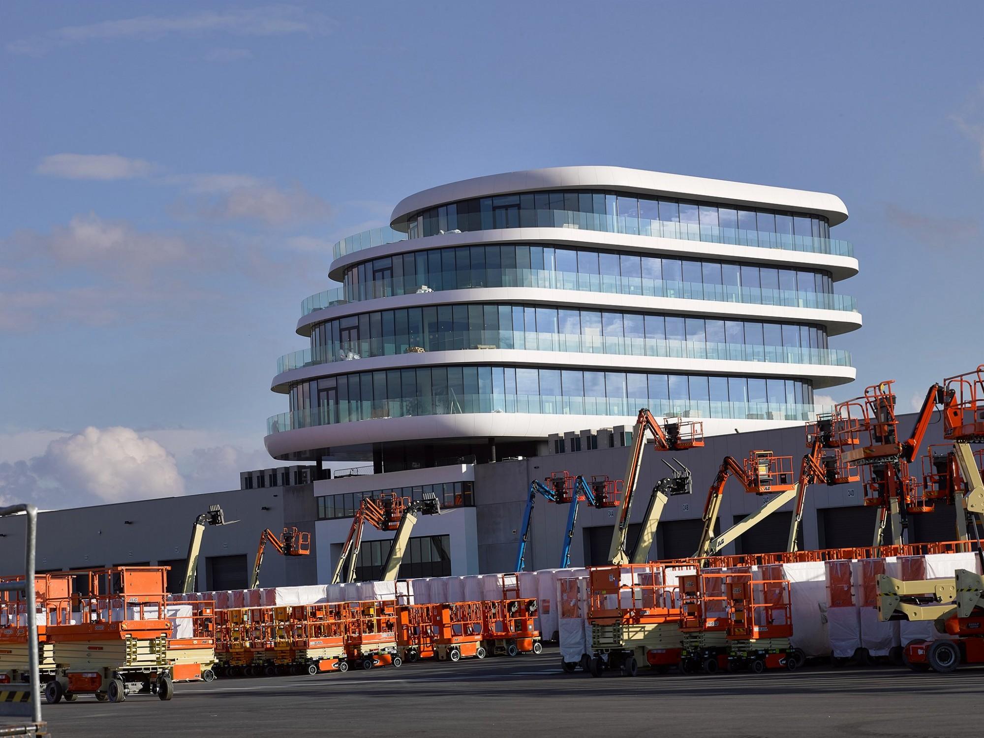 Afbeelding: Architectuur fotografie kantoor bedrijf Aertssen,© mertens architecten, foto Van Huffel.