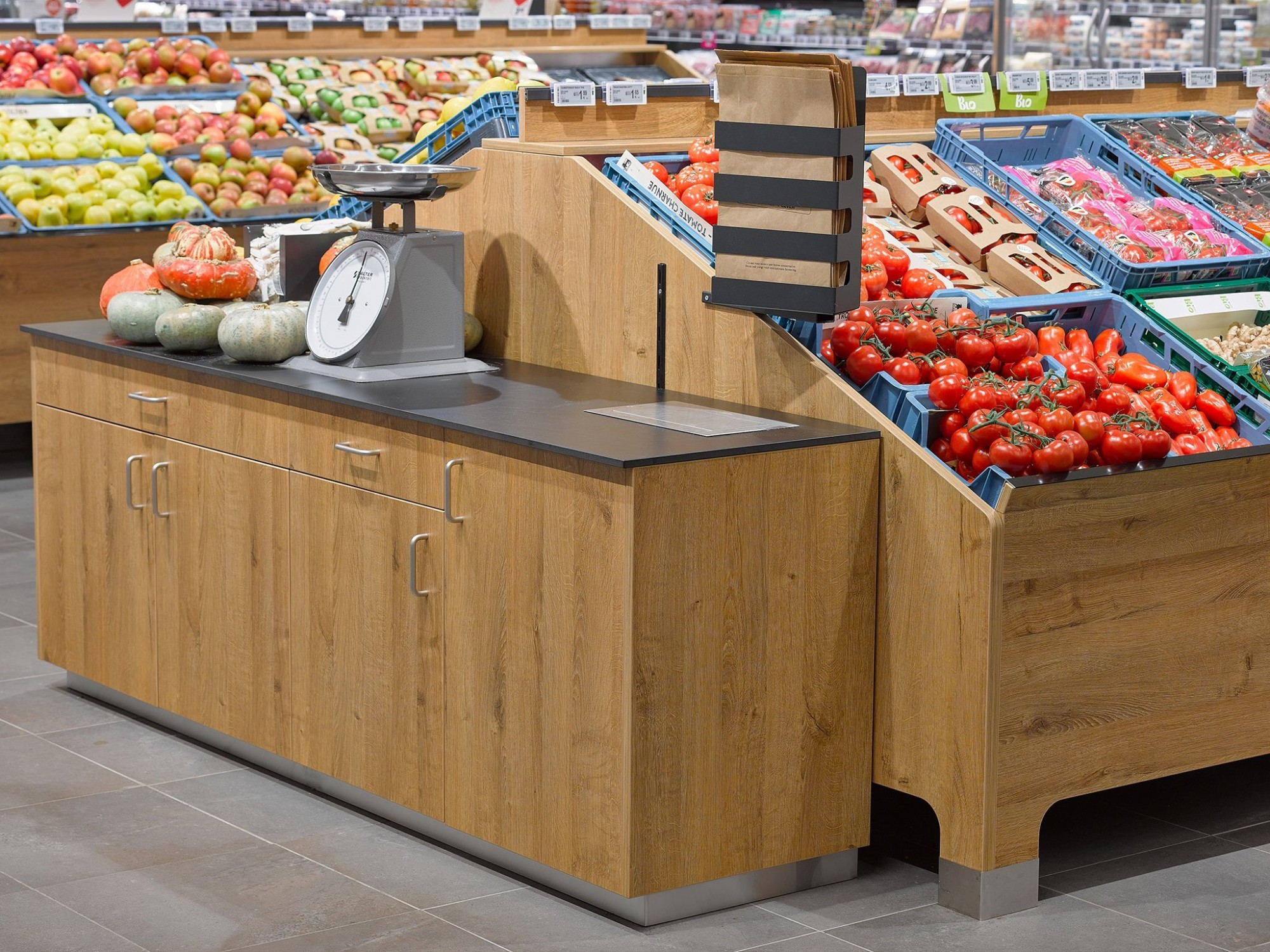 Afbeelding: Fotografie winkelinrichting warenhuizen voor © totaal projecten Vergalle, fotografie foto Van Huffel.