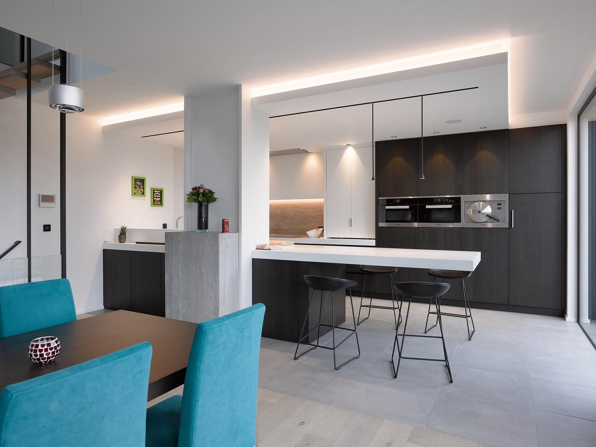 Afbeelding: Keuken interieur voor © totaal projecten Vergalle, fotografie foto Van Huffel