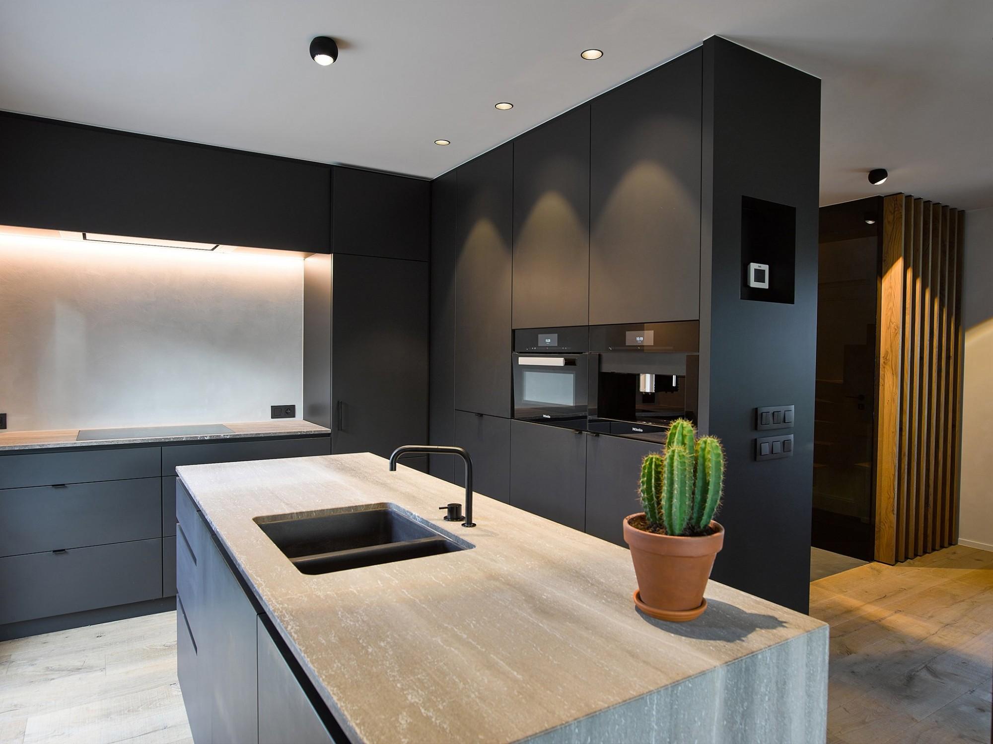 Afbeelding: keuken inrichting voor © totaal projecten Vergalle, fotografie foto Van Huffel