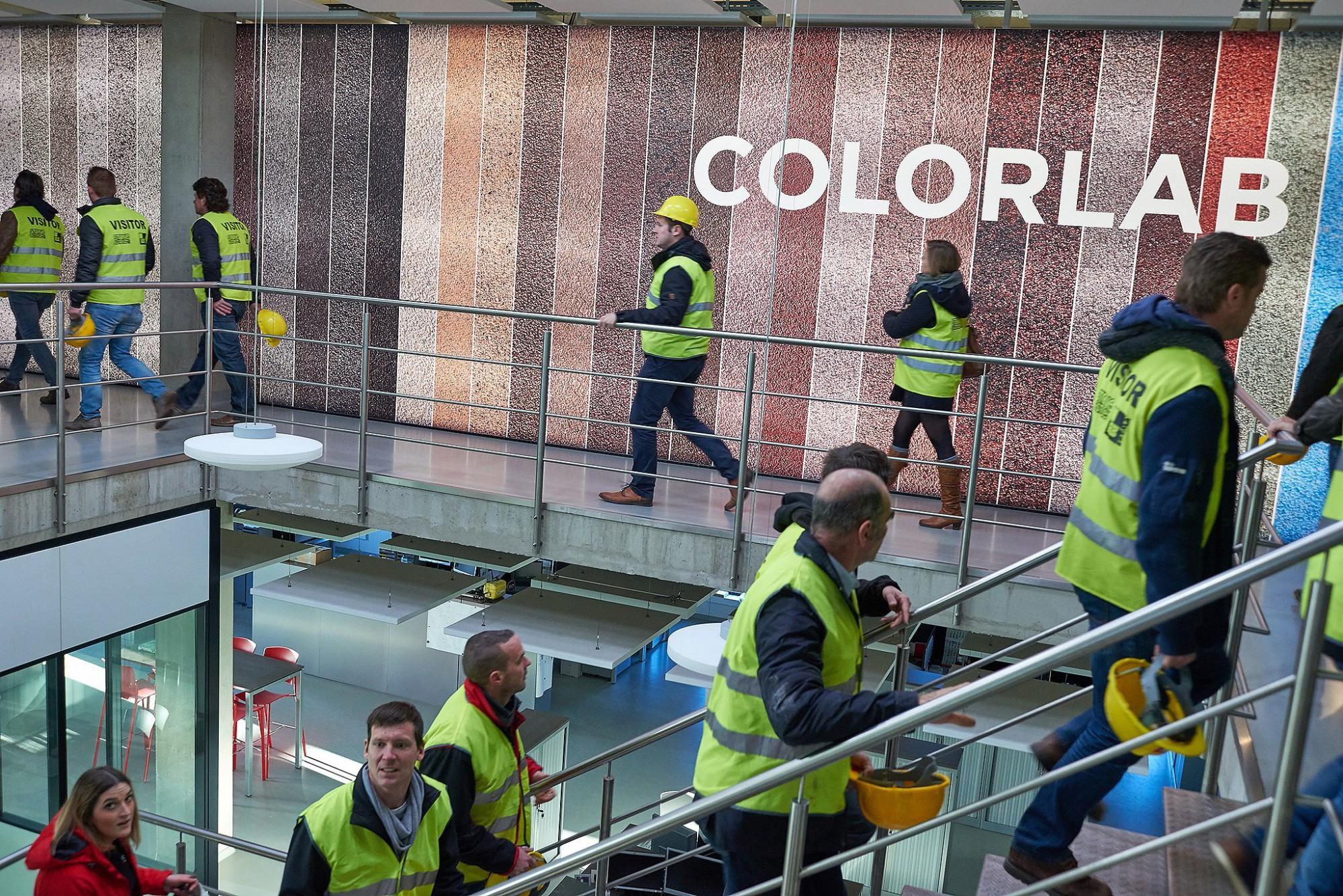 Afbeelding: Fotografie bedrijfsbezoek aan een productie eenheid van Ebema Zutendaal.
