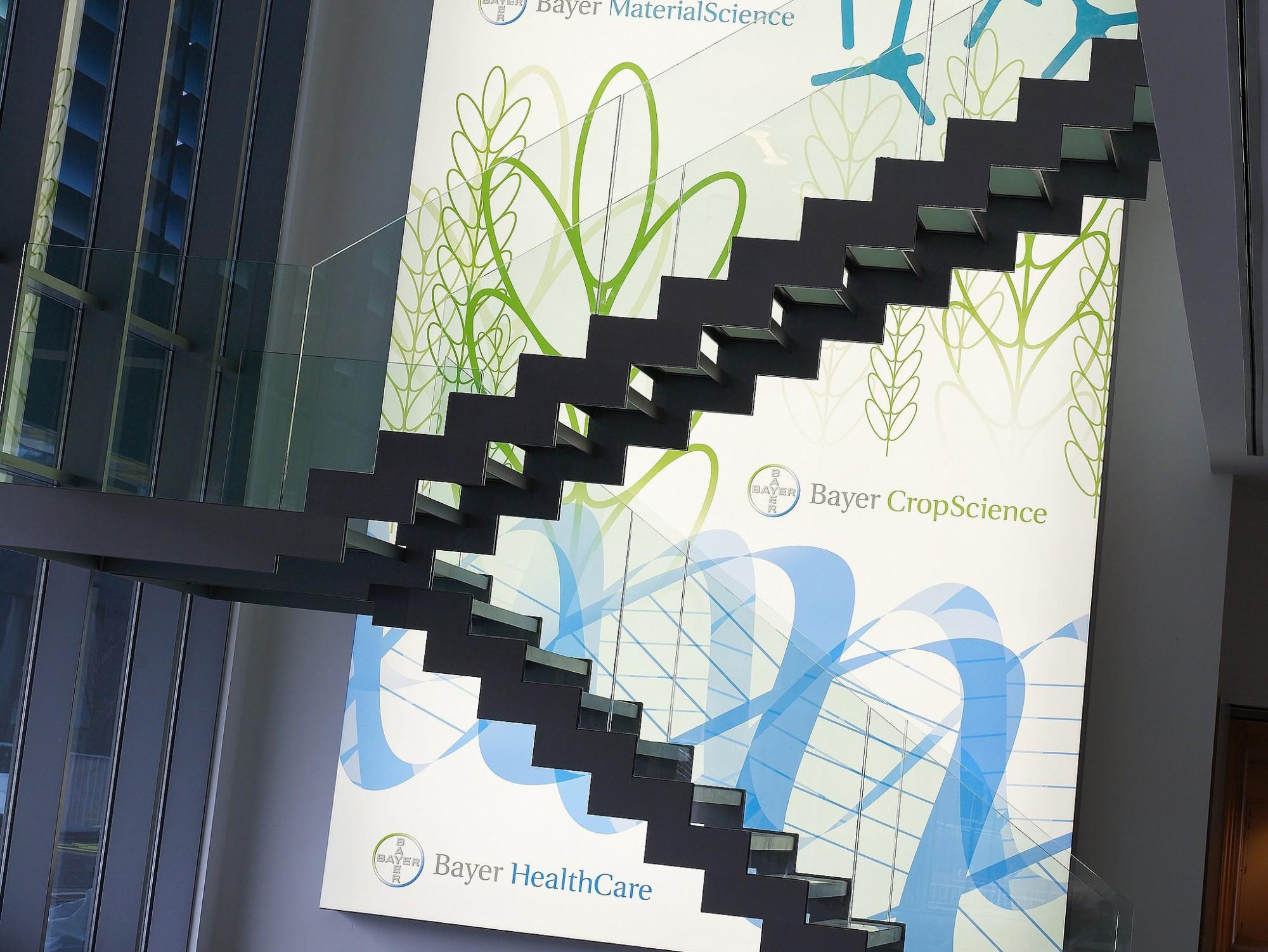 Afbeelding: Interieur fotografie kantoor Bayer te Evere, voor de groep Van Roey.