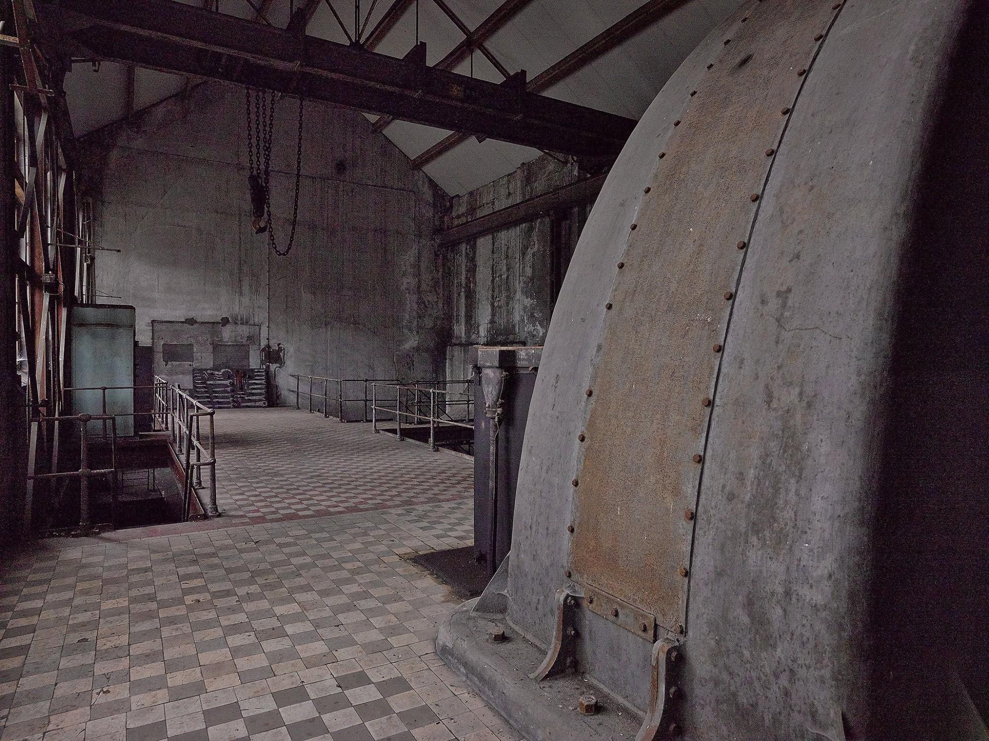 Afbeelding: B Mine Beringen, cultureel erfgoed, fotografie renovatie werken.