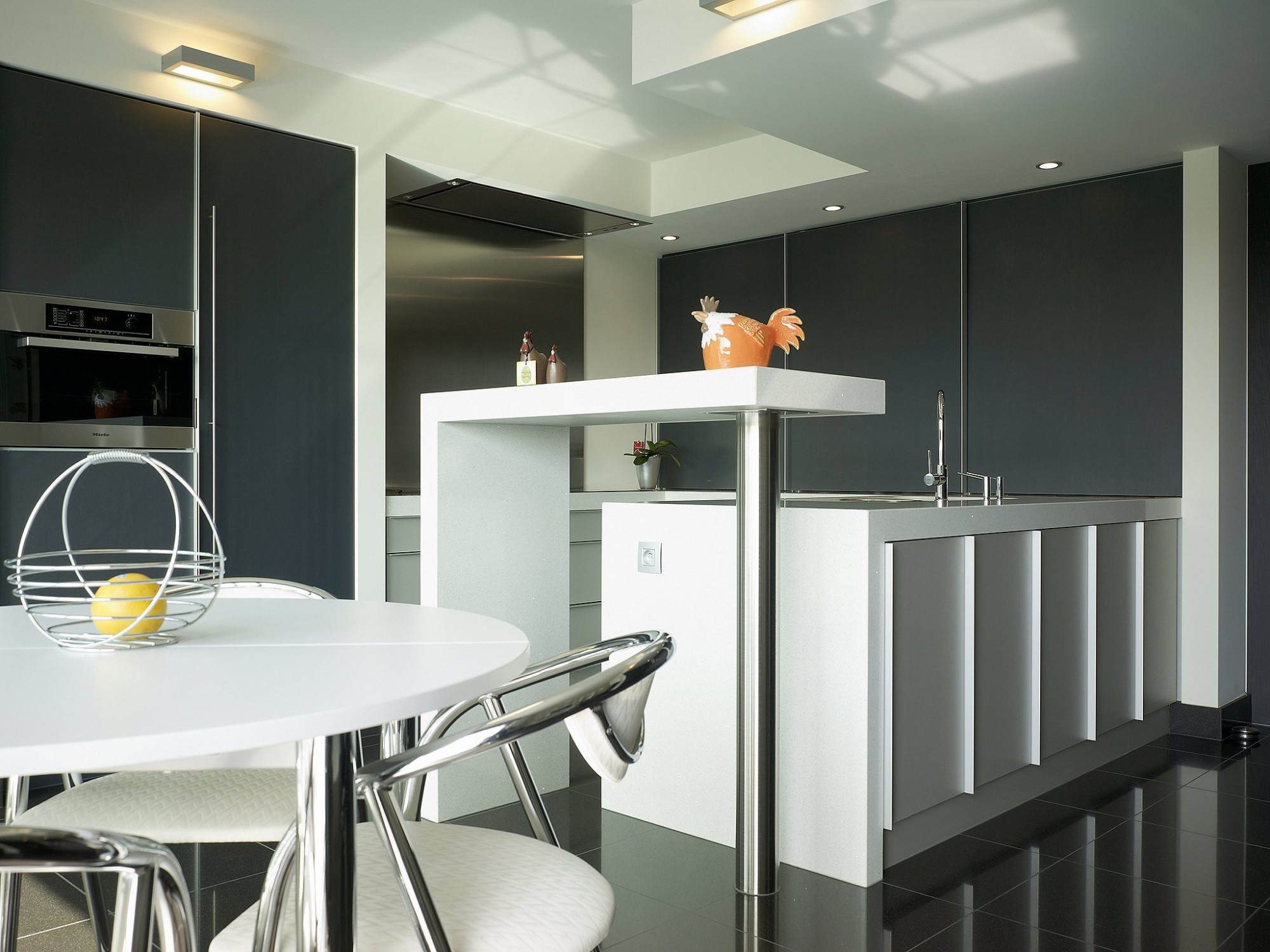 Afbeelding: Fotografie keuken modern te Leuven voor © BVV architecten.