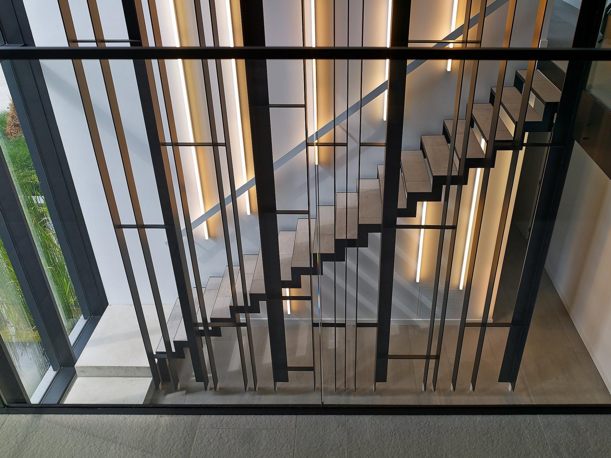 Afbeelding: Interieur fotografie inkom kantoor te Turnhout voor bouwonderneming Fransen.