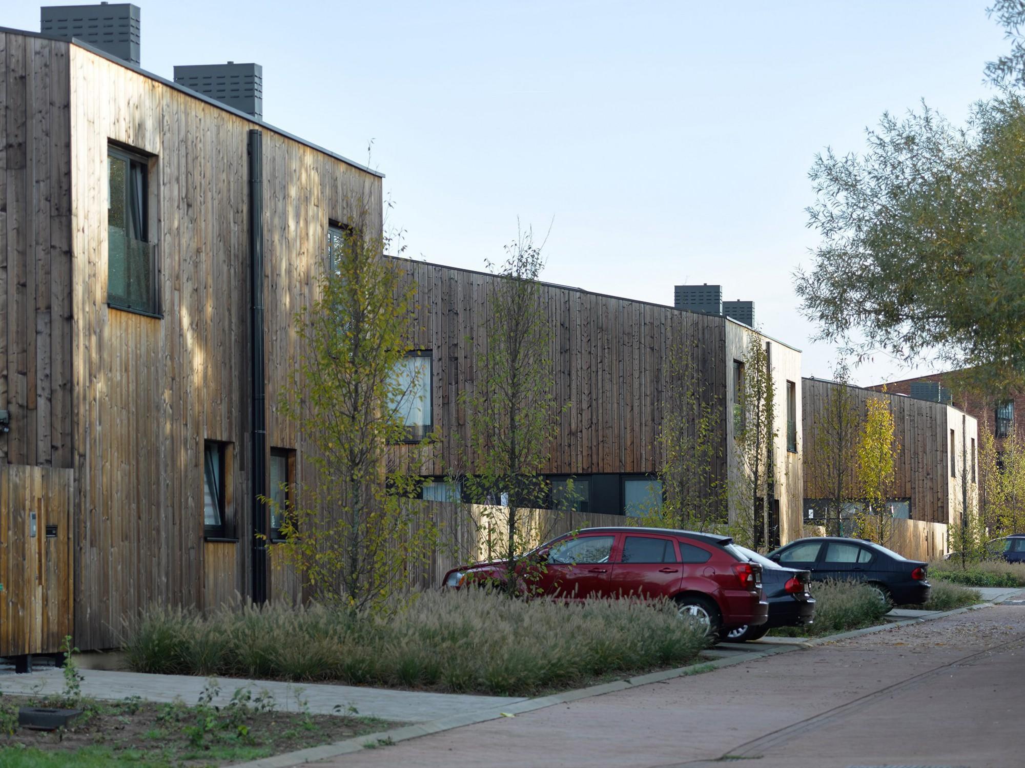 Afbeelding: Sociale woningen voor  © atelier M Architects + Planners te Hemiksem.