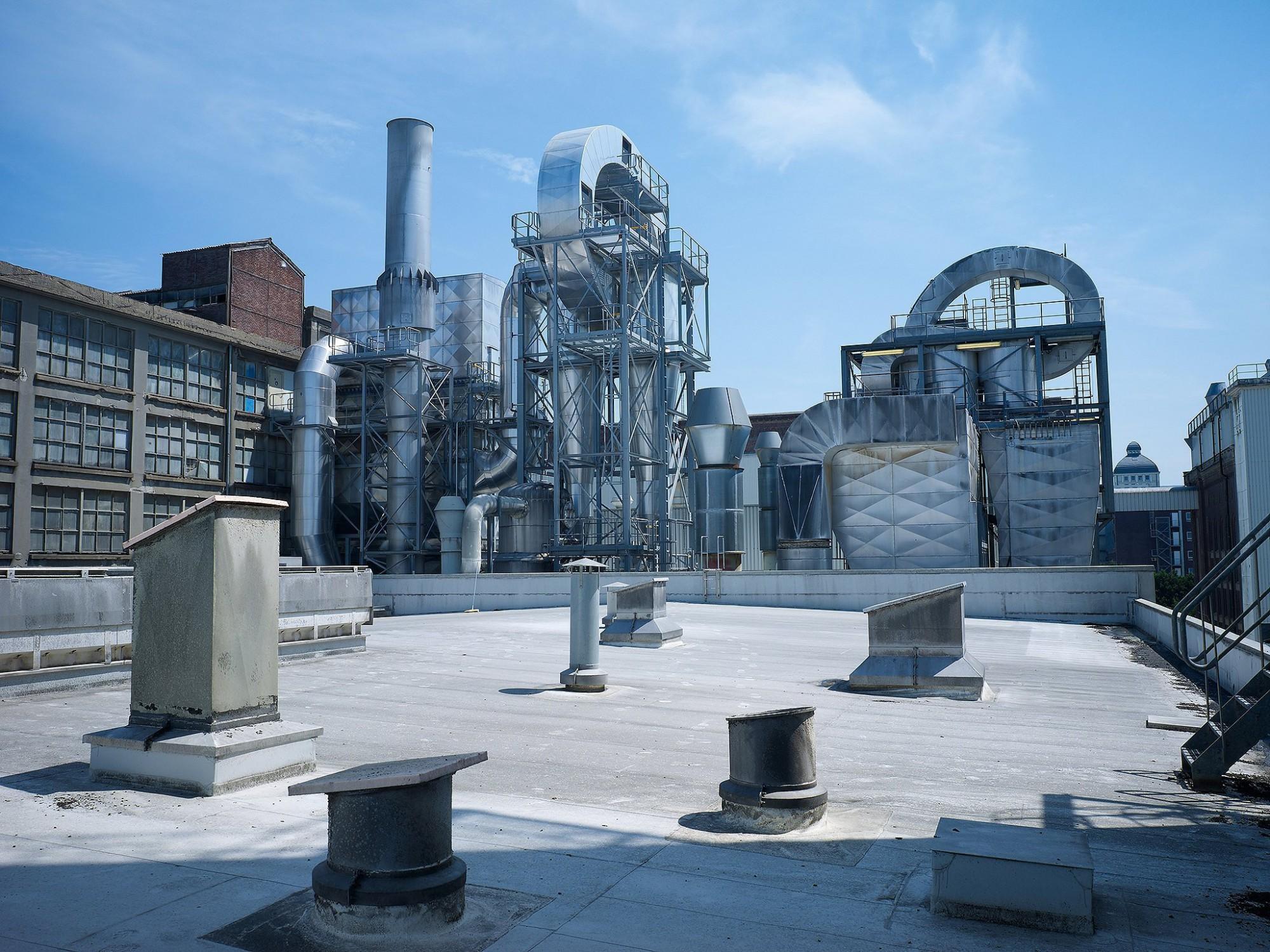 Afbeelding: Fotografie technische installatie Remy te Wijgmaal, voor Bolckmans.