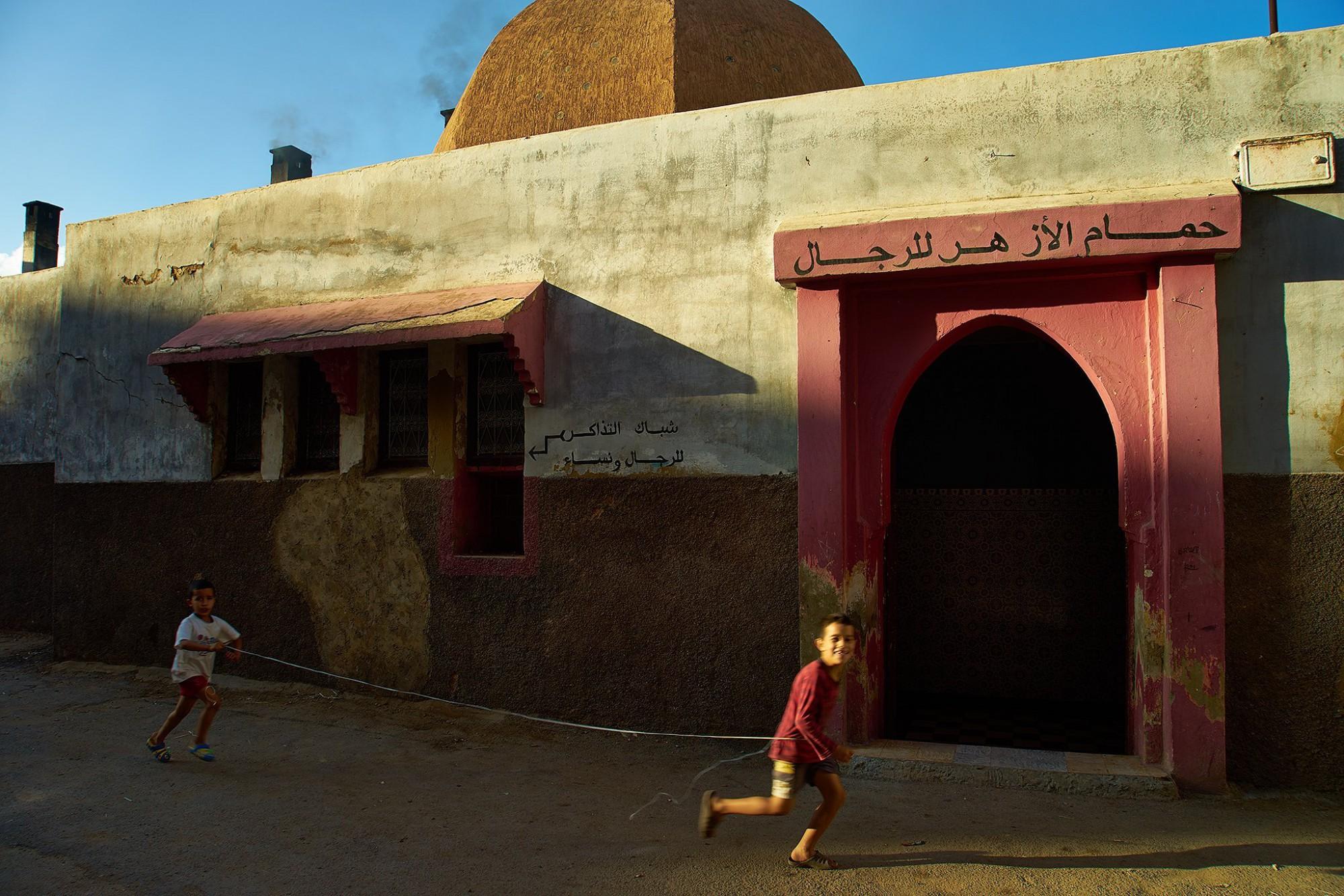 Afbeelding: Dominique Van Huffel, reisreportage, Marokko, Meknès.