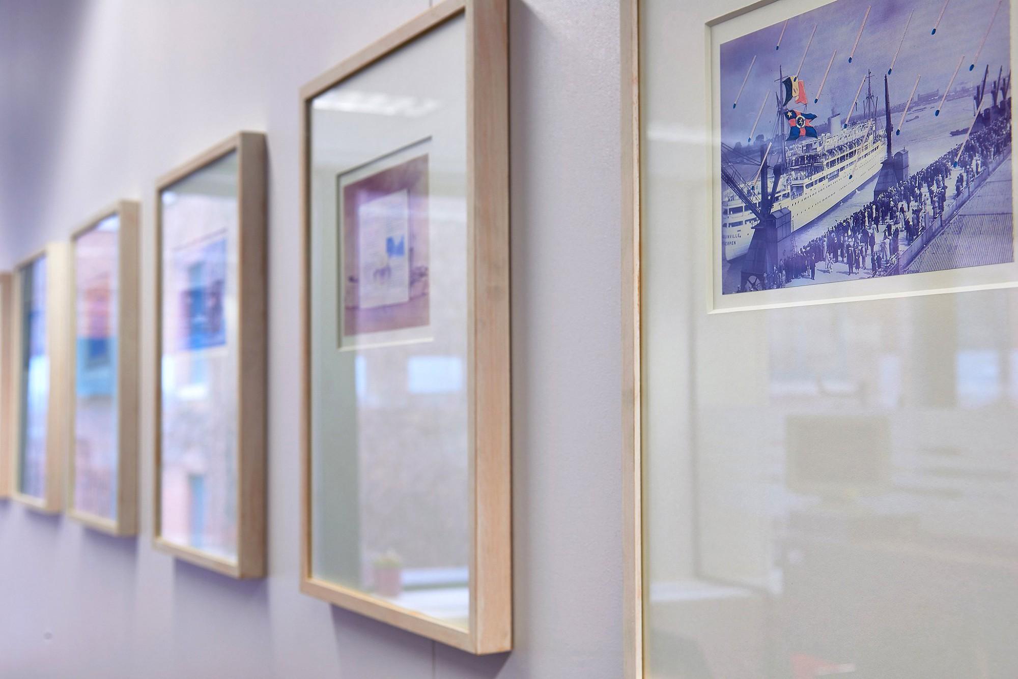 Afbeelding: Bedrijfs reportage , sfeer interieur kantoorgebouw, voor CMB