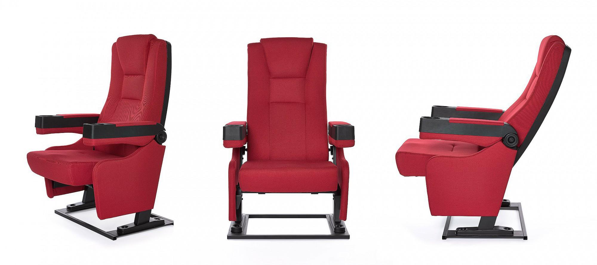 Afbeelding: Fotografie cinema zetels, meubilair, studio op locatie, Foto Van Huffel, voor Cinedream.