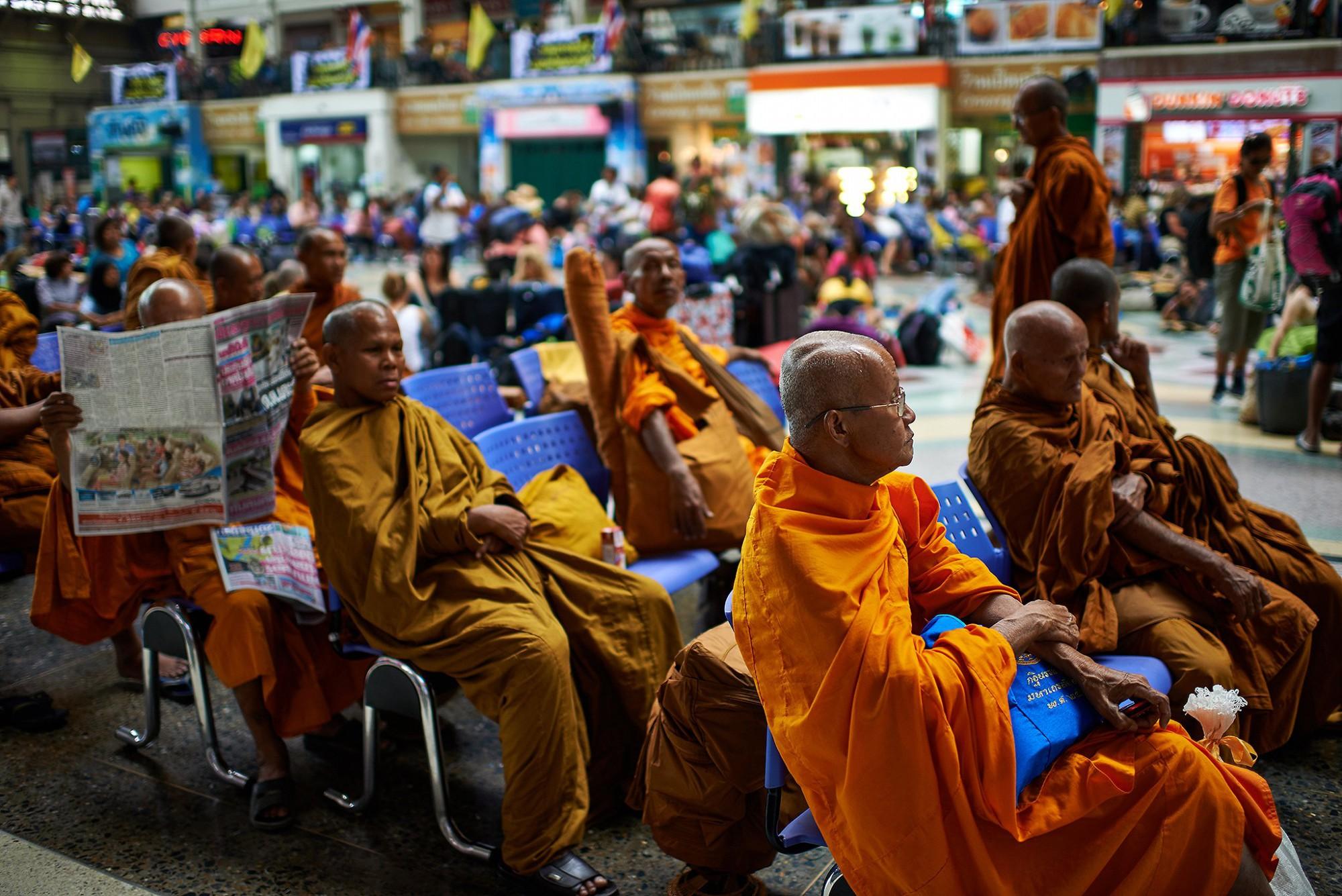 Afbeelding: Dominique Van Huffel reisreportages Thailand, Bangkok.