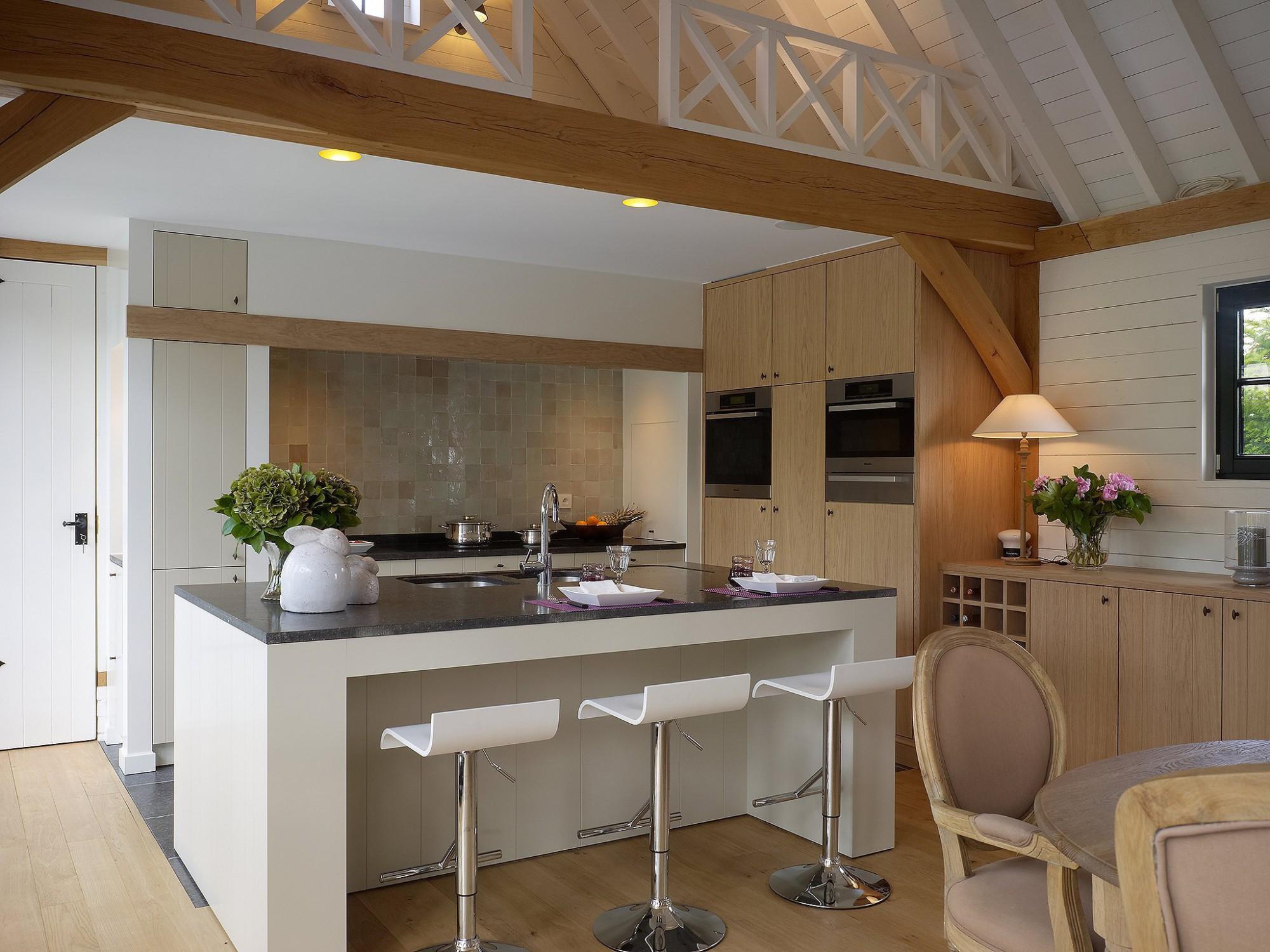 Afbeelding: Fotografie interieur keuken te Elversele voor © Heritage Building.