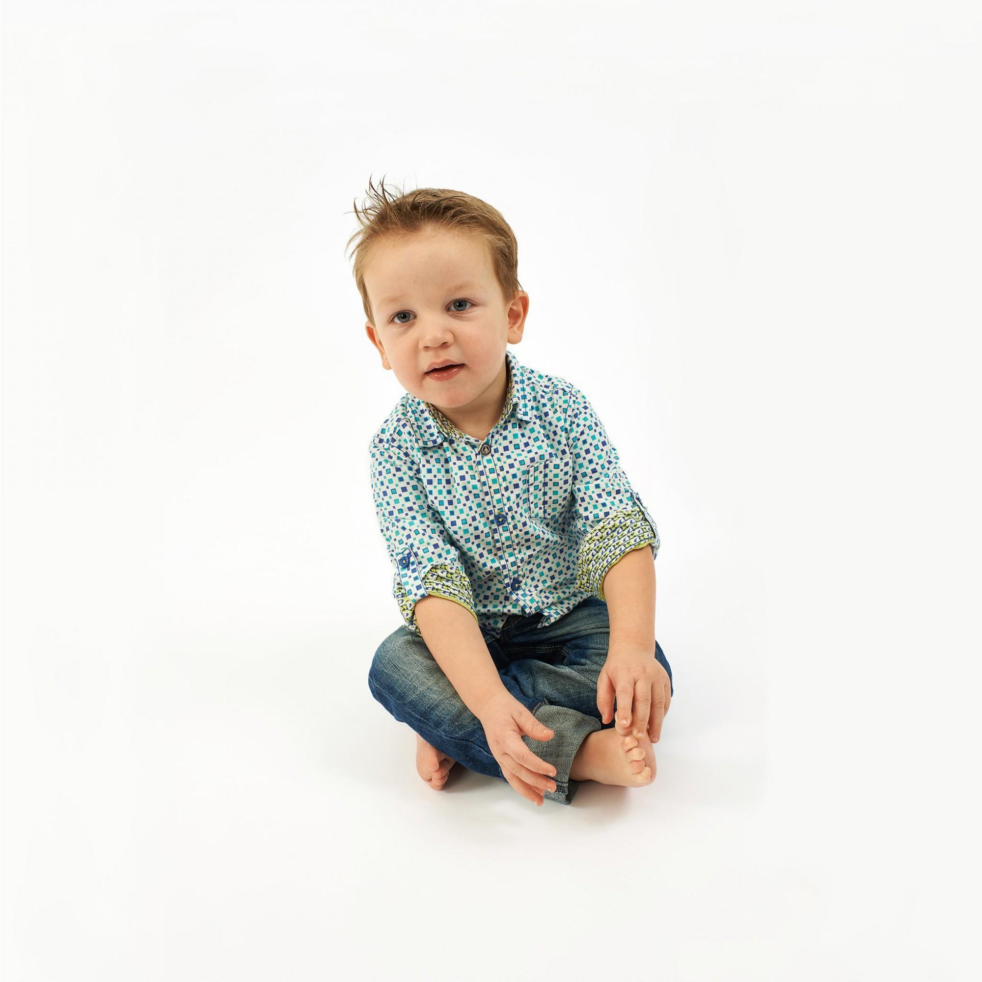Afbeelding: Kinderportret studio, foto Van Huffel.