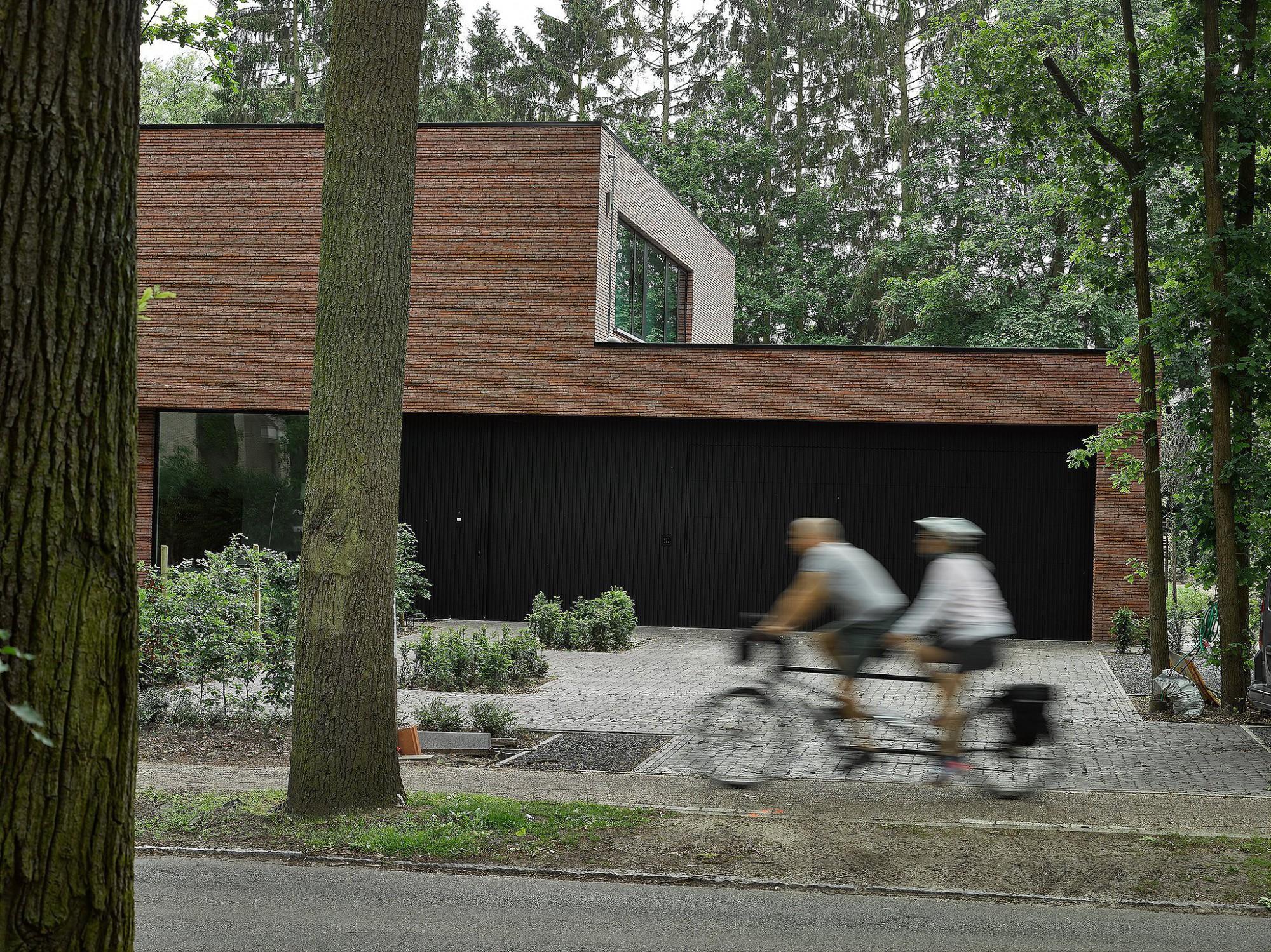 Afbeelding: Architectuur fotografie woningen voor © mertens architecten te Kapellen, foto Van Huffel Antwerpen.