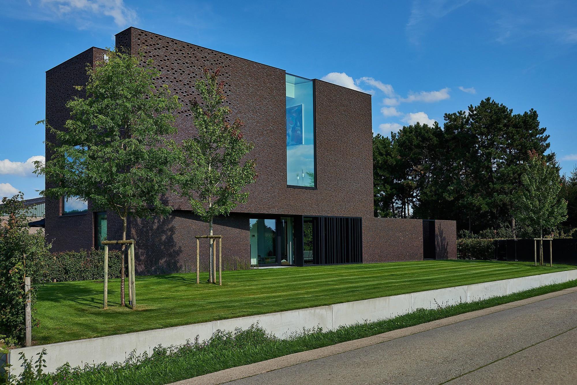 Afbeelding: Architectuur fotografie, moderne woning en tuin, voor Groenpunt.