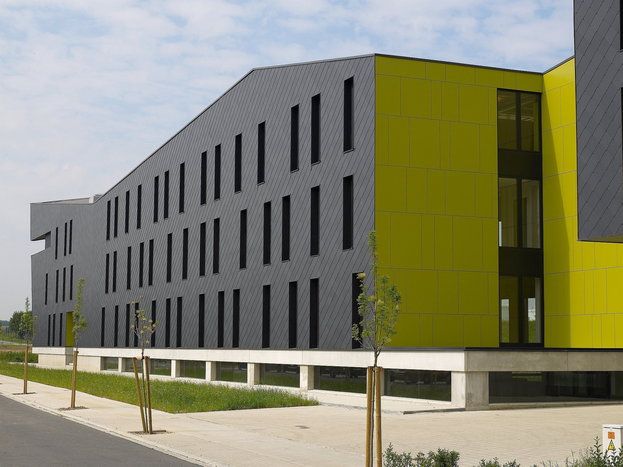 Afbeelding: Architectuur fotografie, kantoorgebouw Gate 25 L te Steenokkerzeel, voor groep Van Roey.