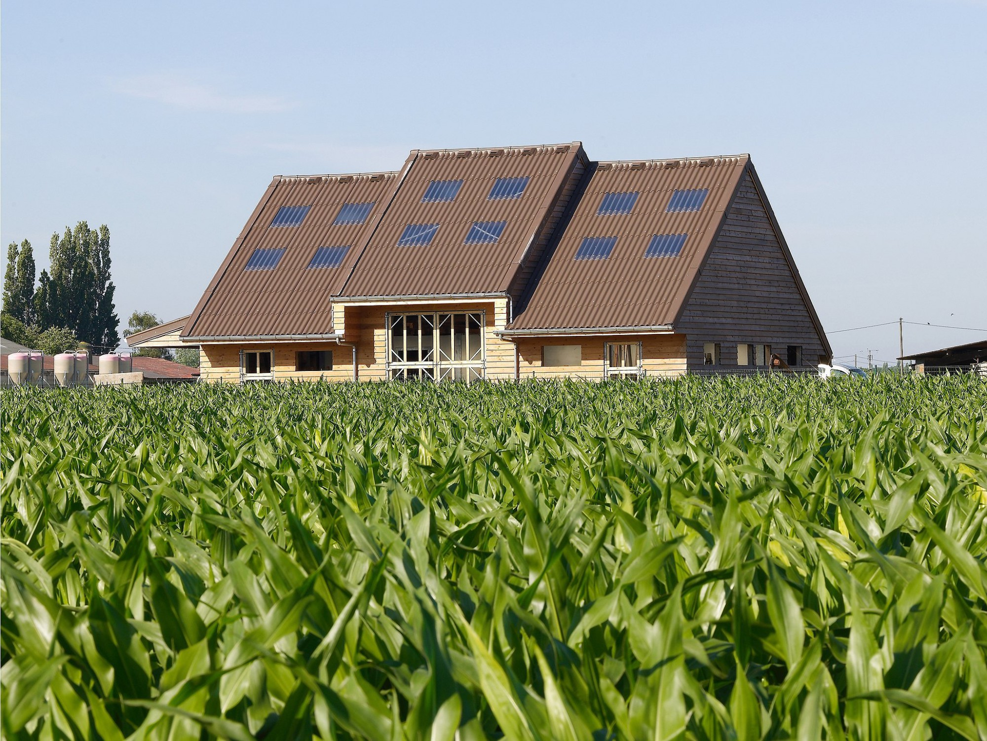 Afbeelding: Product fotografie op locatie, dakbedekking golfplaten, fotografie voor SVK.