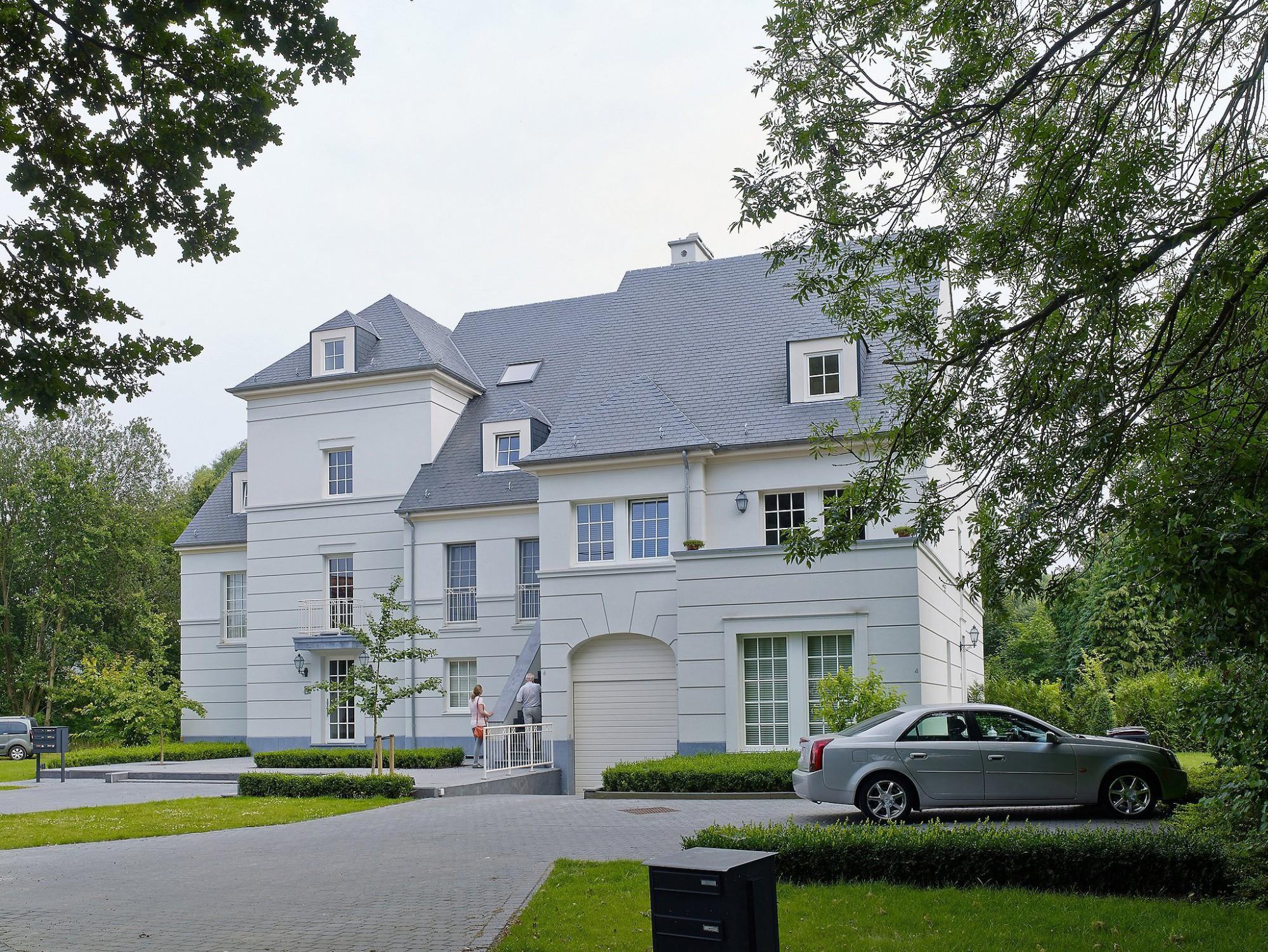 Afbeelding: Architectuur fotografie, modern appartement Mol, voor bouwonderneming Fransen.