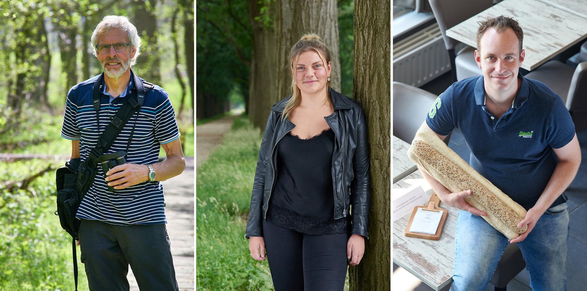 Afbeelding: Portretfotografie op locatie, verkiezingscampagne voor Hoogstraten Leeft.