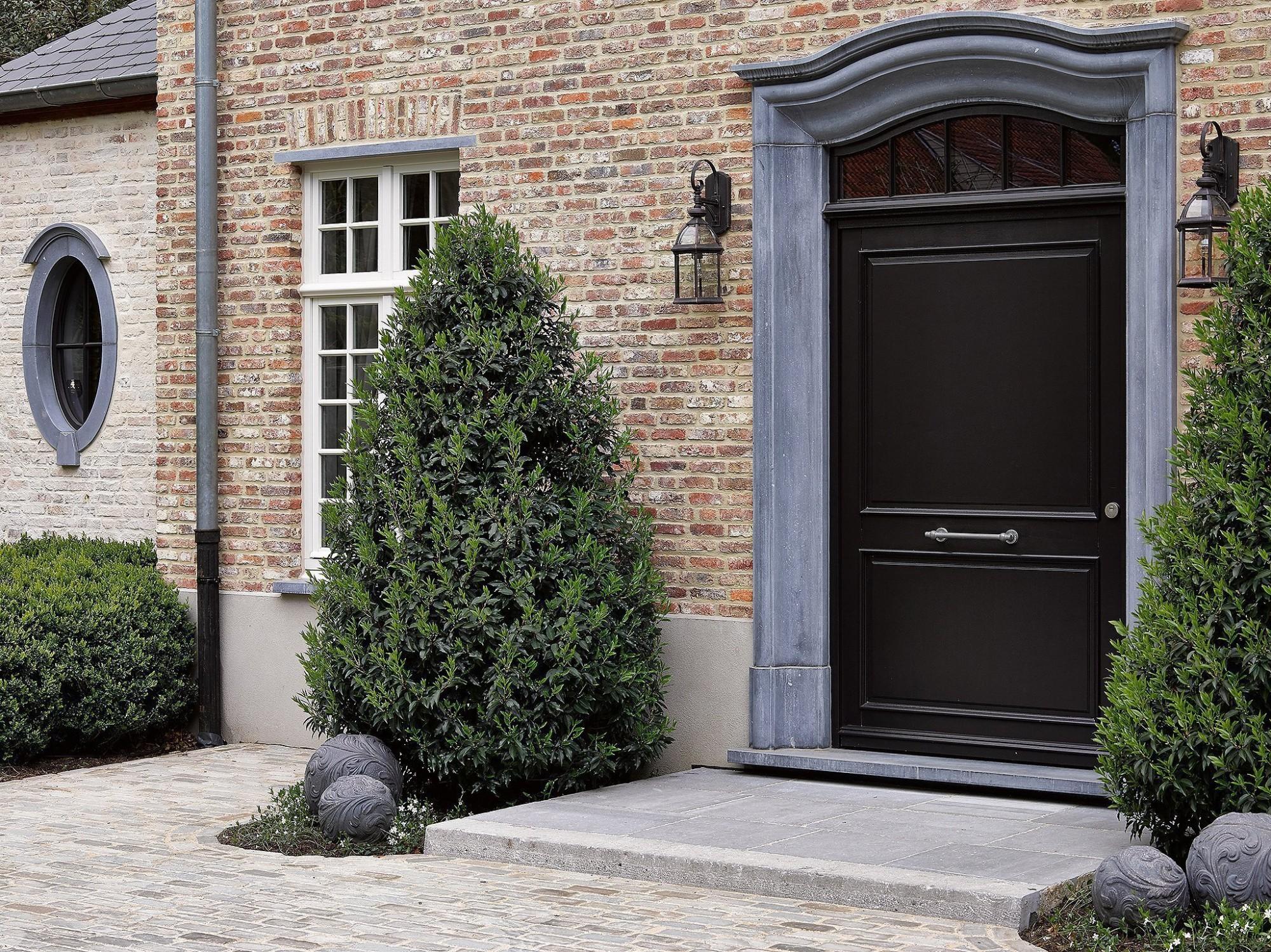 Afbeelding: Architectuur fotografie woningen Foto Van Huffel, buitenschrijnwerk hout, voor Eddy De Prins.