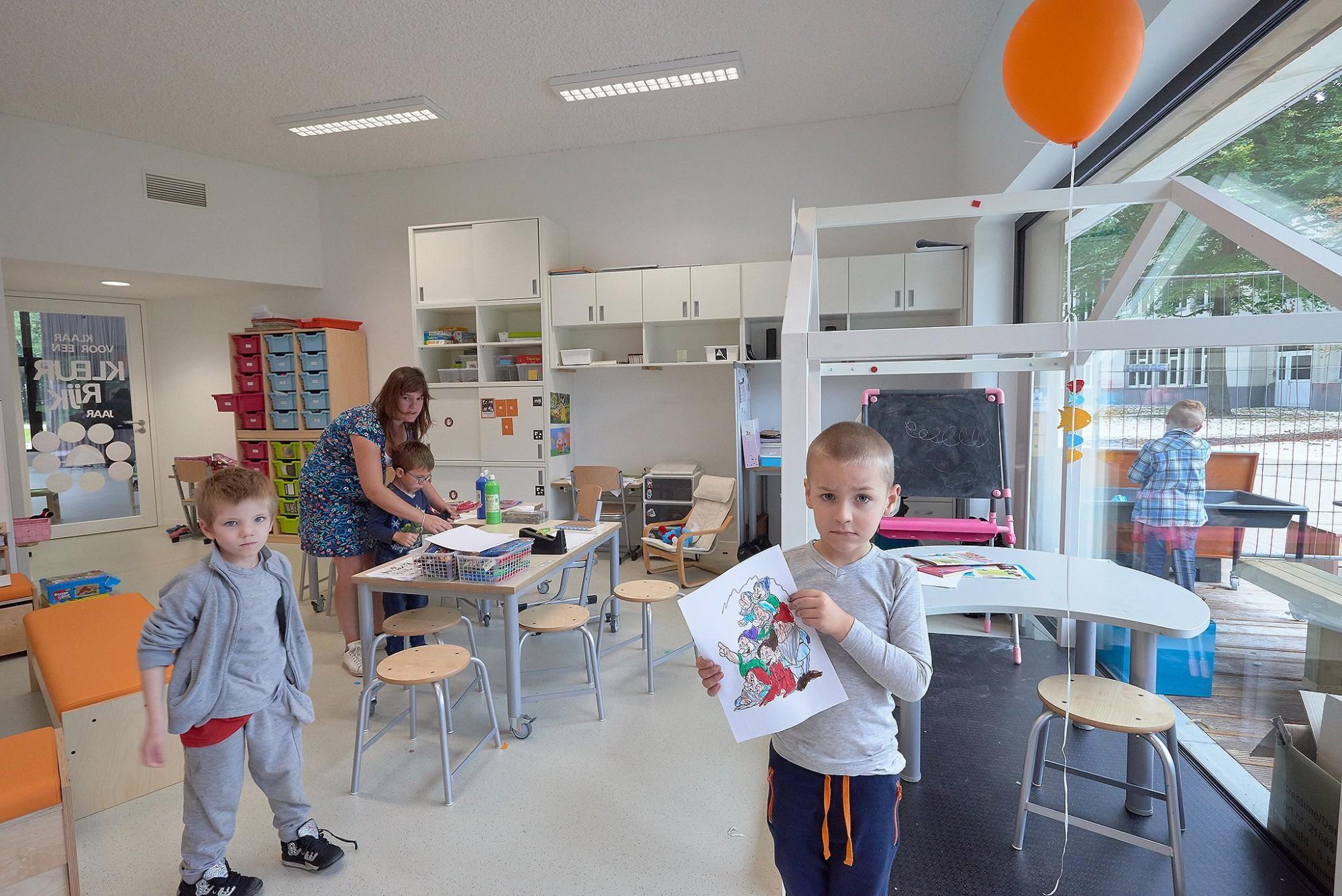 Afbeelding: Fotografie school te Brasschaat, voor DCA.