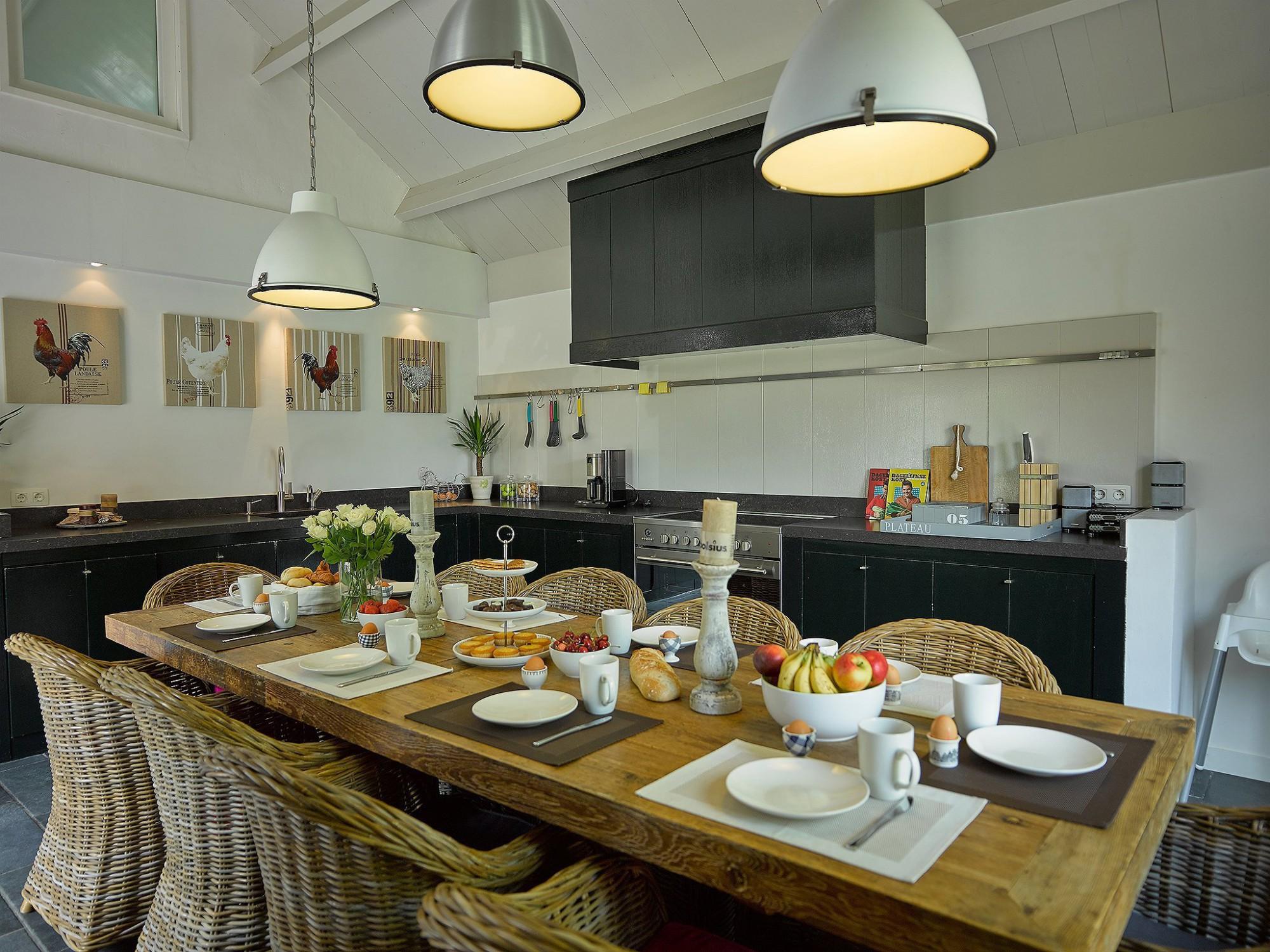 Afbeelding: Fotografie interieur keuken vakantiewoning
