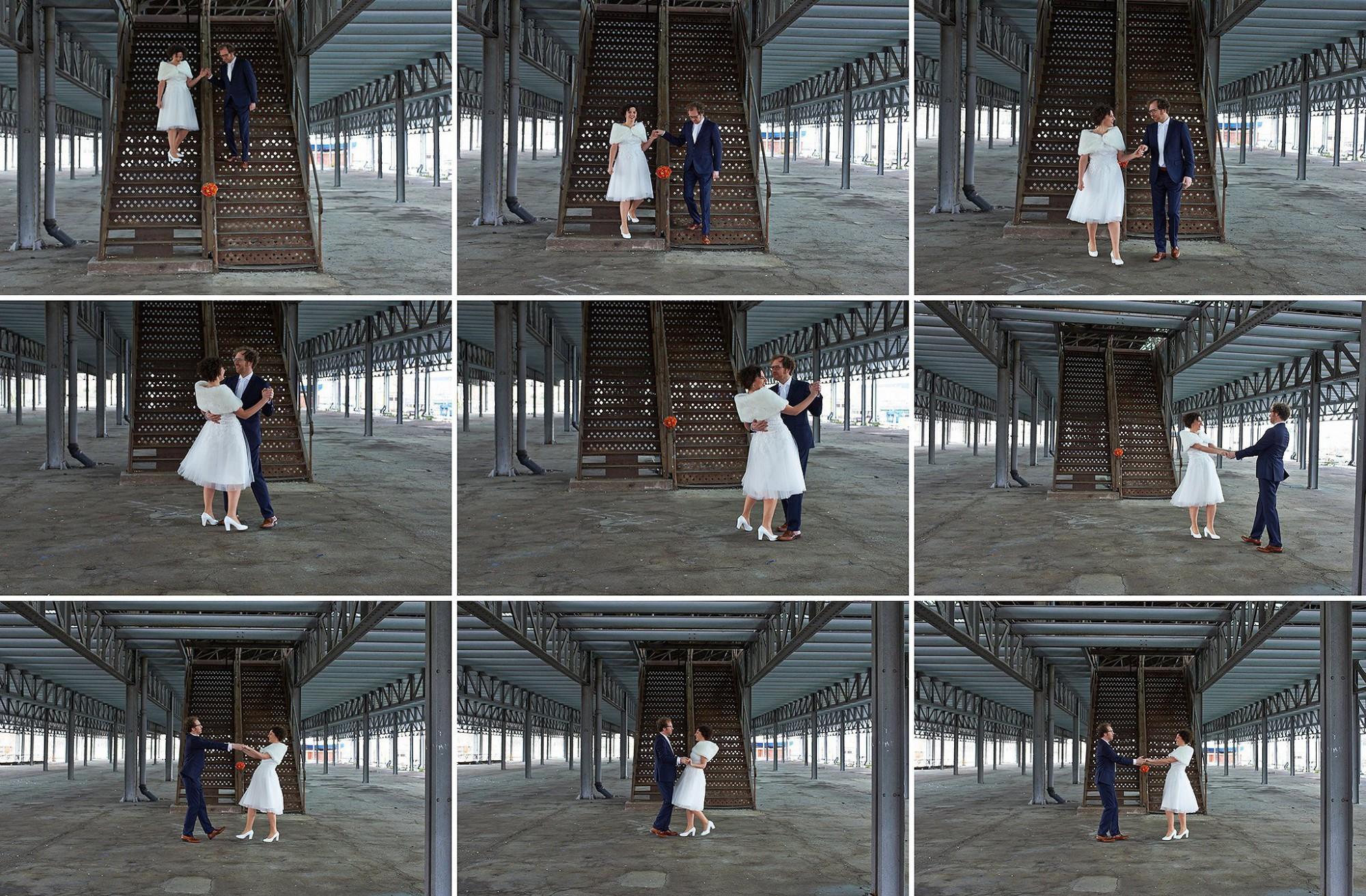 Afbeelding: Huwelijksreportages met juist dat tikje en creativiteit meer, foto Van Huffel.