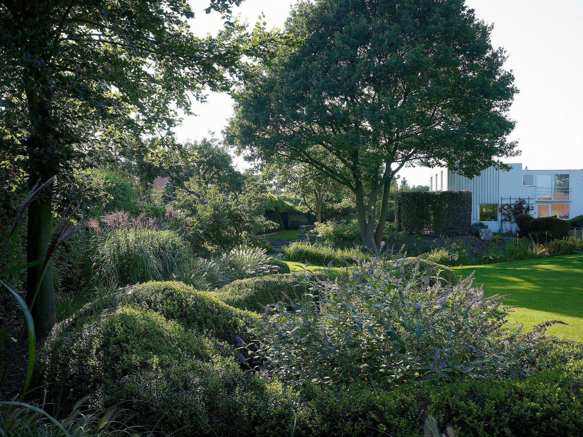 Afbeelding: Fotografie tuin te Rijkevorsel voor © Archi - verde, landschapsfotografie foto Van Huffel.