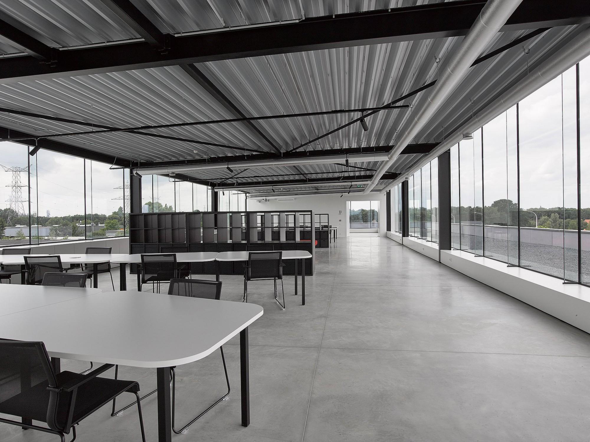 Afbeelding: Interieur fotografie industrie, documentatie ruimte voor Renotec te Geel.