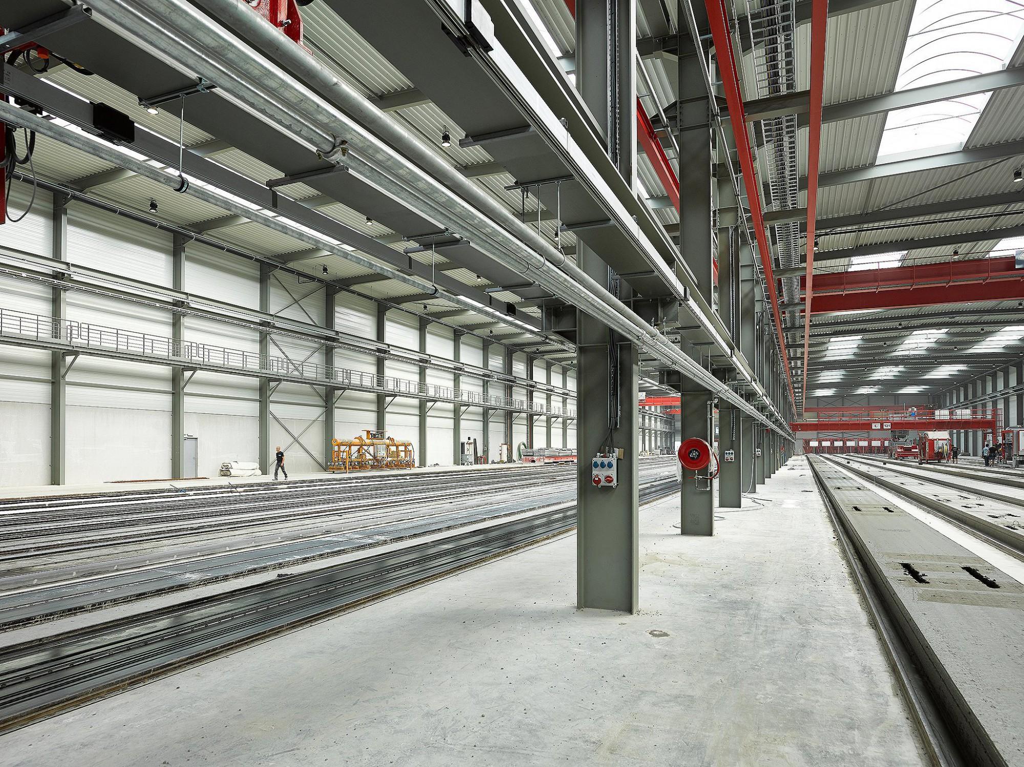 Afbeelding: Interieur bedrijfshal Fingo, Interieurfotografie industrie Foto Van Huffel.