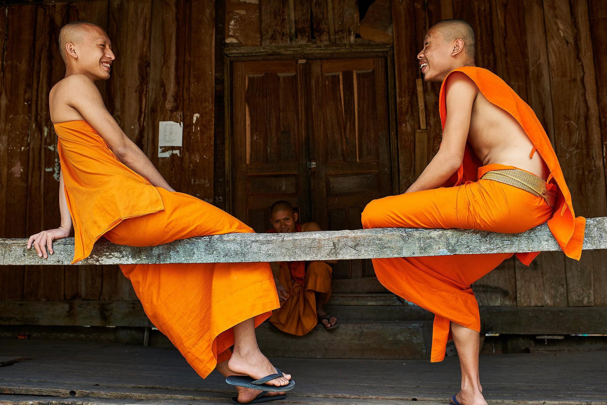 Afbeelding: Dominique Van Huffel reisreportages Laos, Lao Prabang.