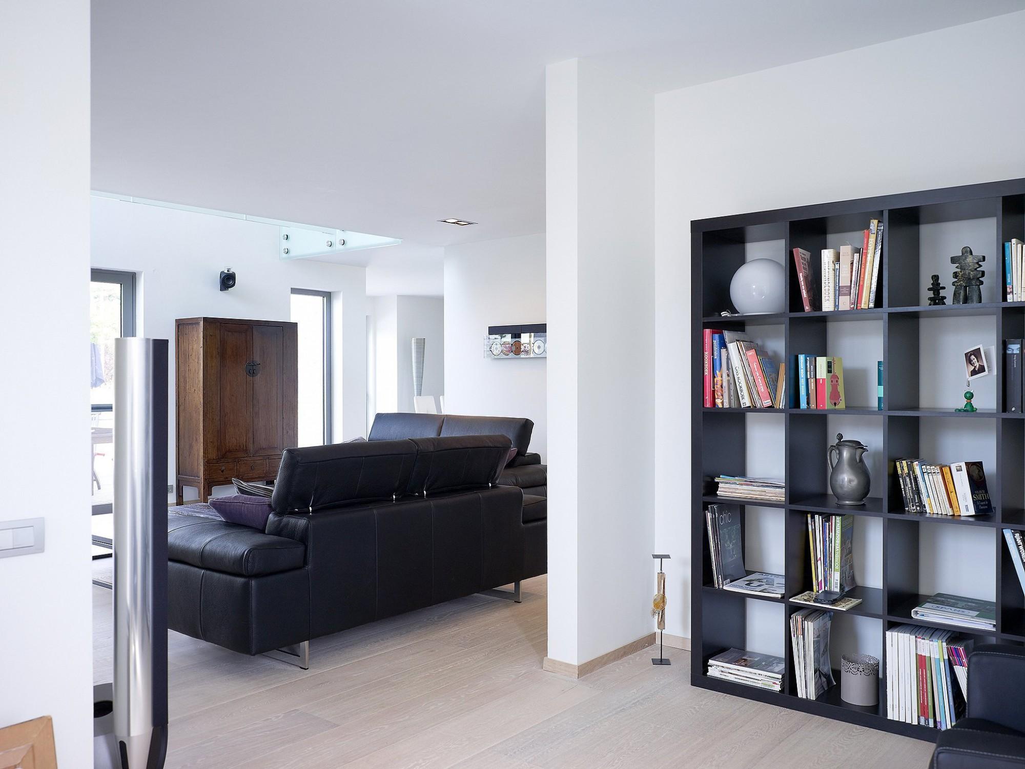 Afbeelding: Fotografie interieur te Asse voor © BVV architecten.