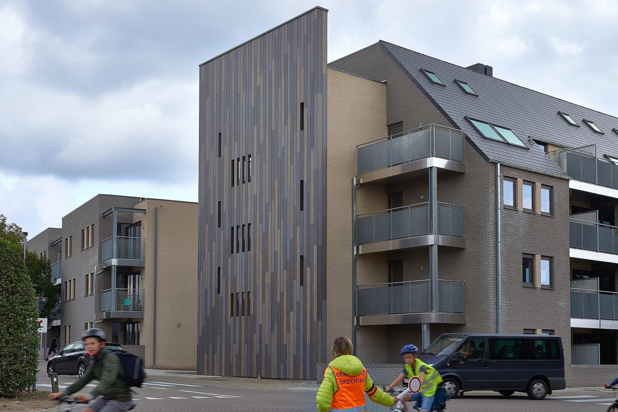 Afbeelding: Fotografie architectuur sociale appartementen, Putte Beerzel,© Architectenatelier Verwilt-Cautreels bvba, voor DCA.