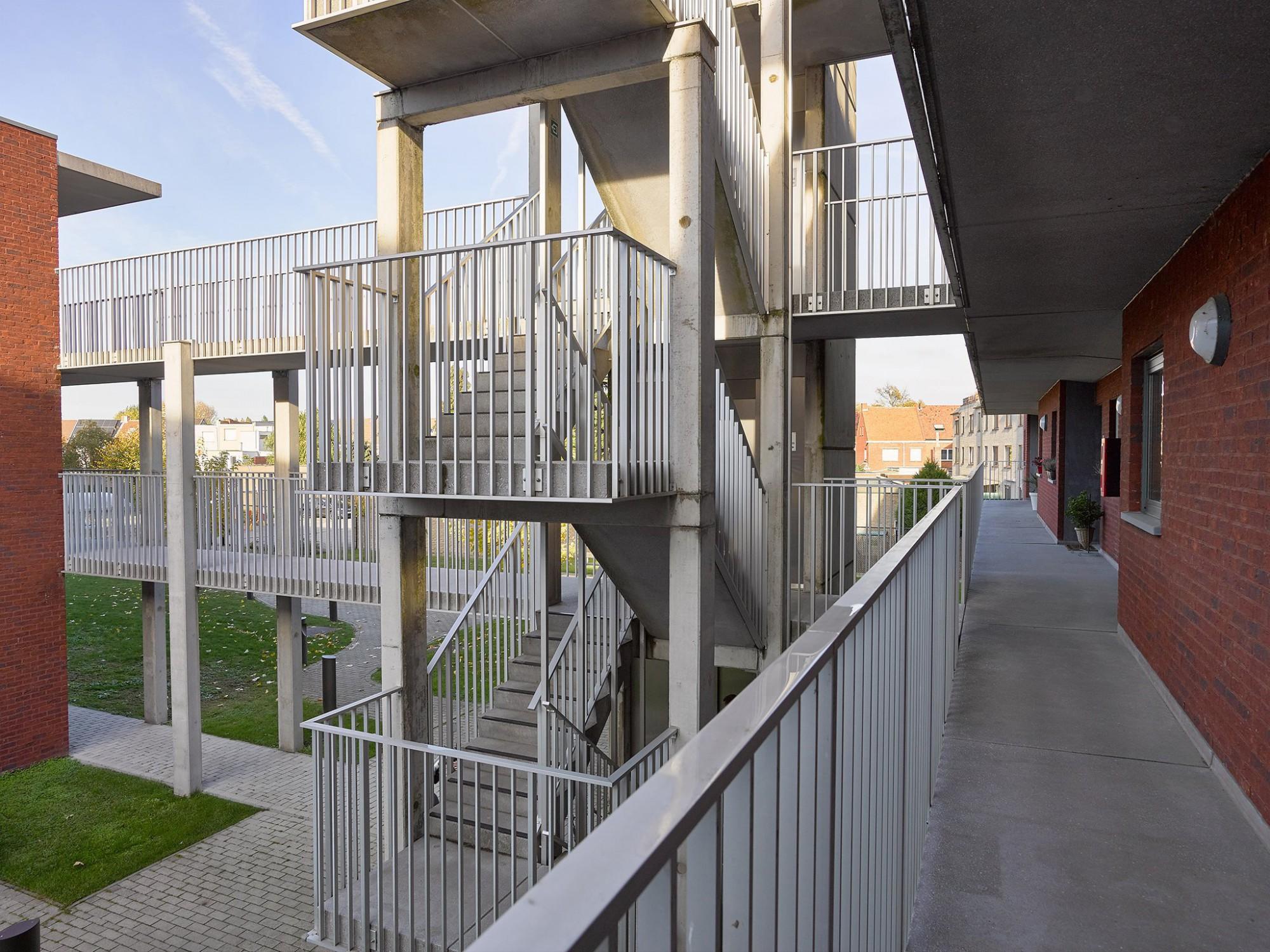 Afbeelding: Sociale woningen voor © 3D architecten te Burcht.