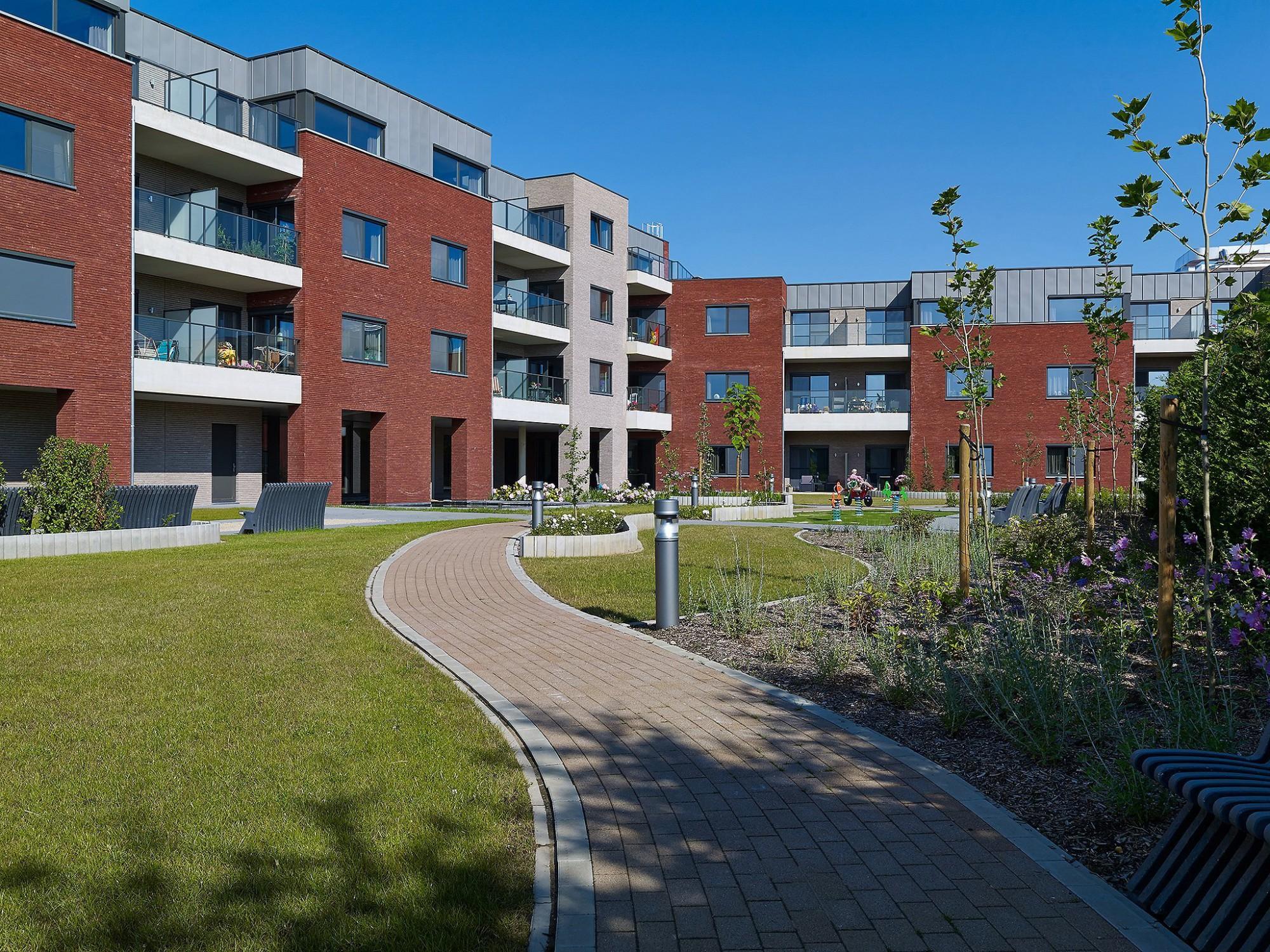 Afbeelding: Architectuur fotografie, woon-en zorgcentrum te Heusden-Zolder, voor Stone&Style.